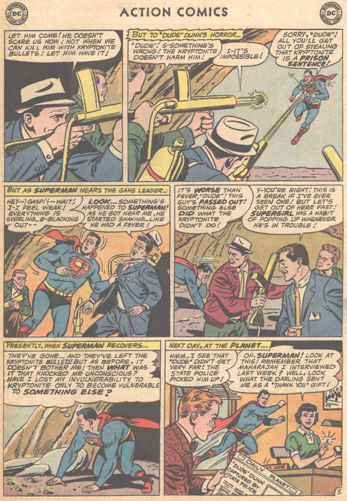 Read online Action Comics (1938) comic -  Issue #291 - 7