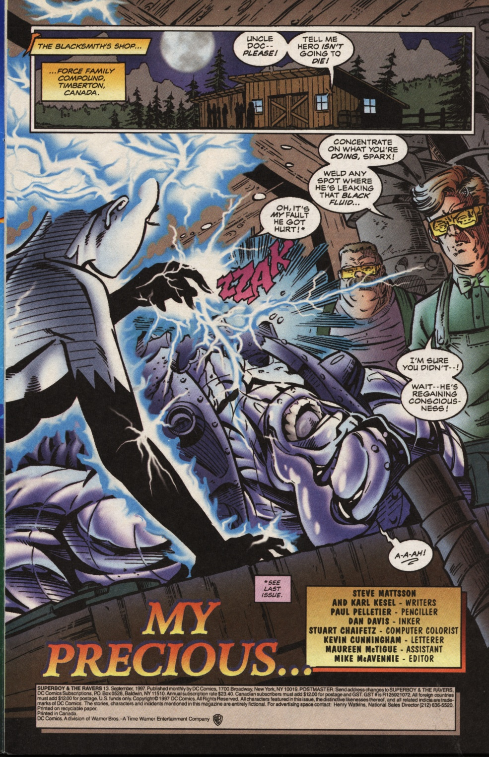 Read online Superboy & The Ravers comic -  Issue #13 - 2