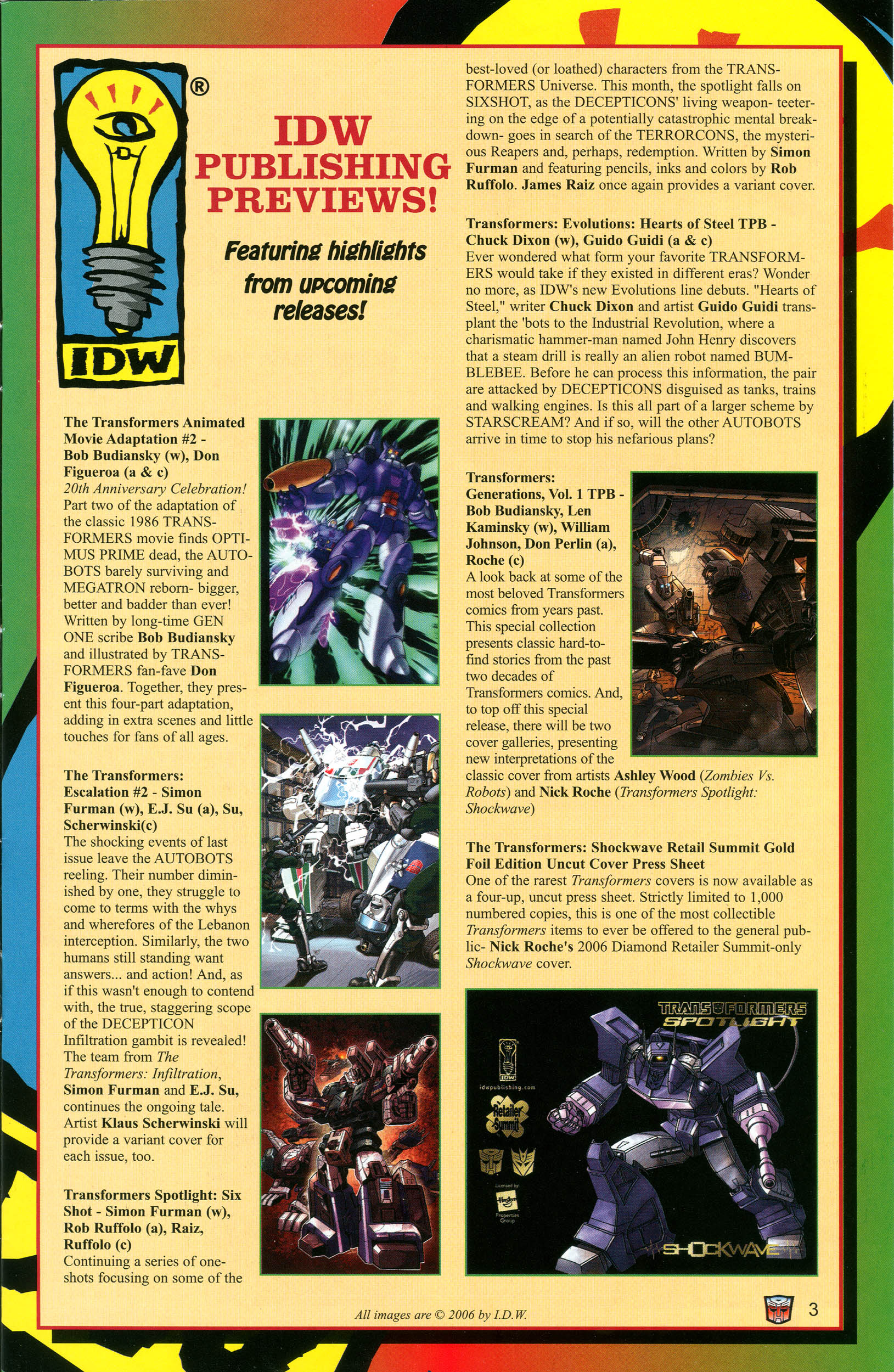 Read online Transformers: Collectors' Club comic -  Issue #12 - 3