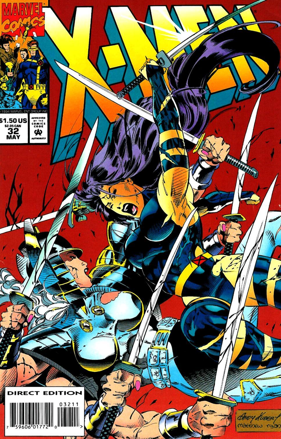 X-Men (1991) 32 Page 0