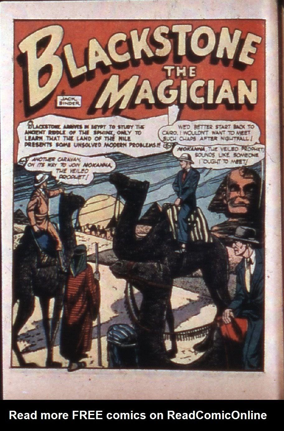 Read online Super-Magician Comics comic -  Issue #3 - 4