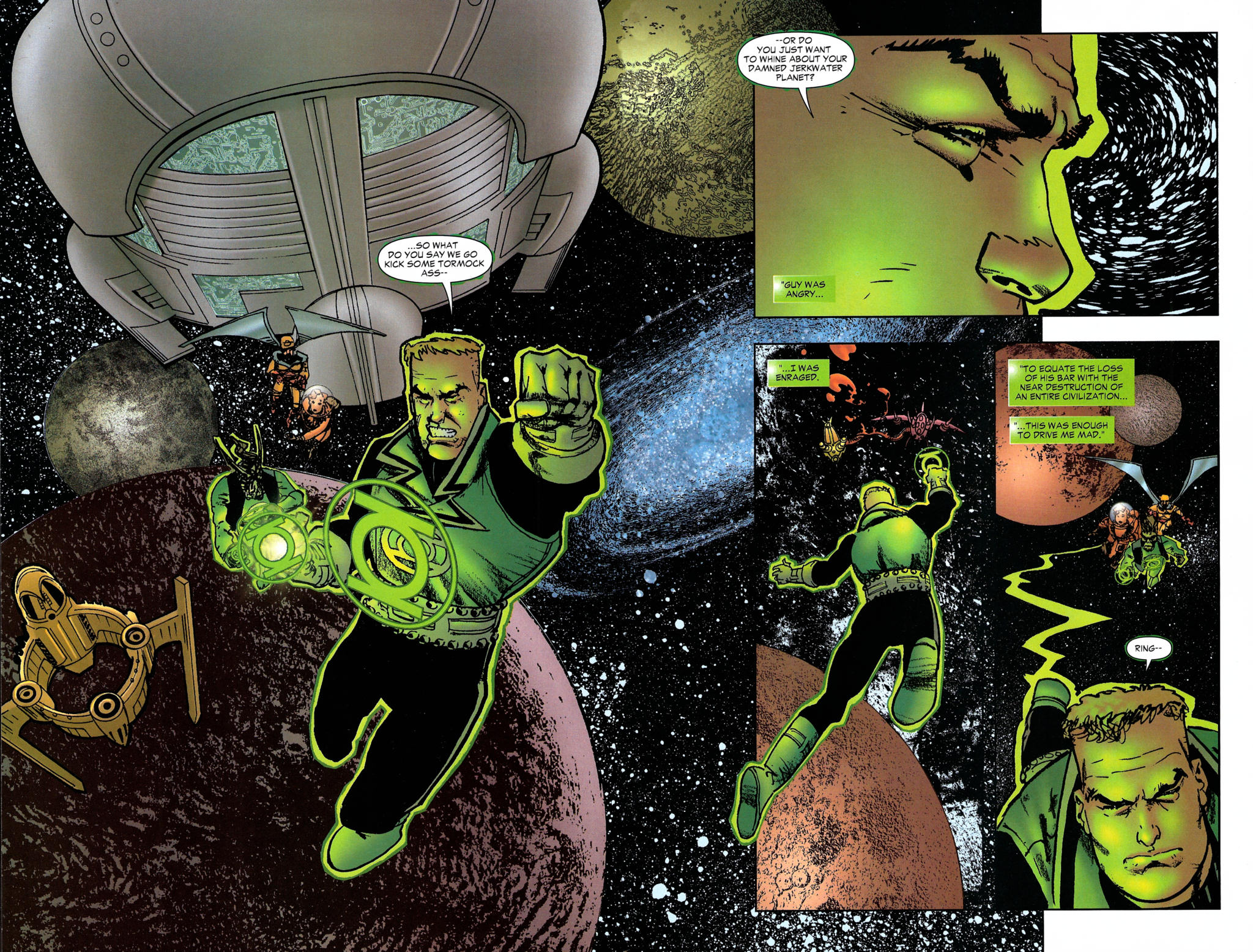 Read online Guy Gardner: Collateral Damage comic -  Issue #2 - 24