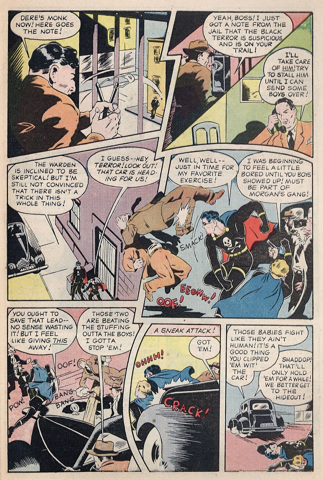 Exciting Comics (1940) issue 38 - Page 7