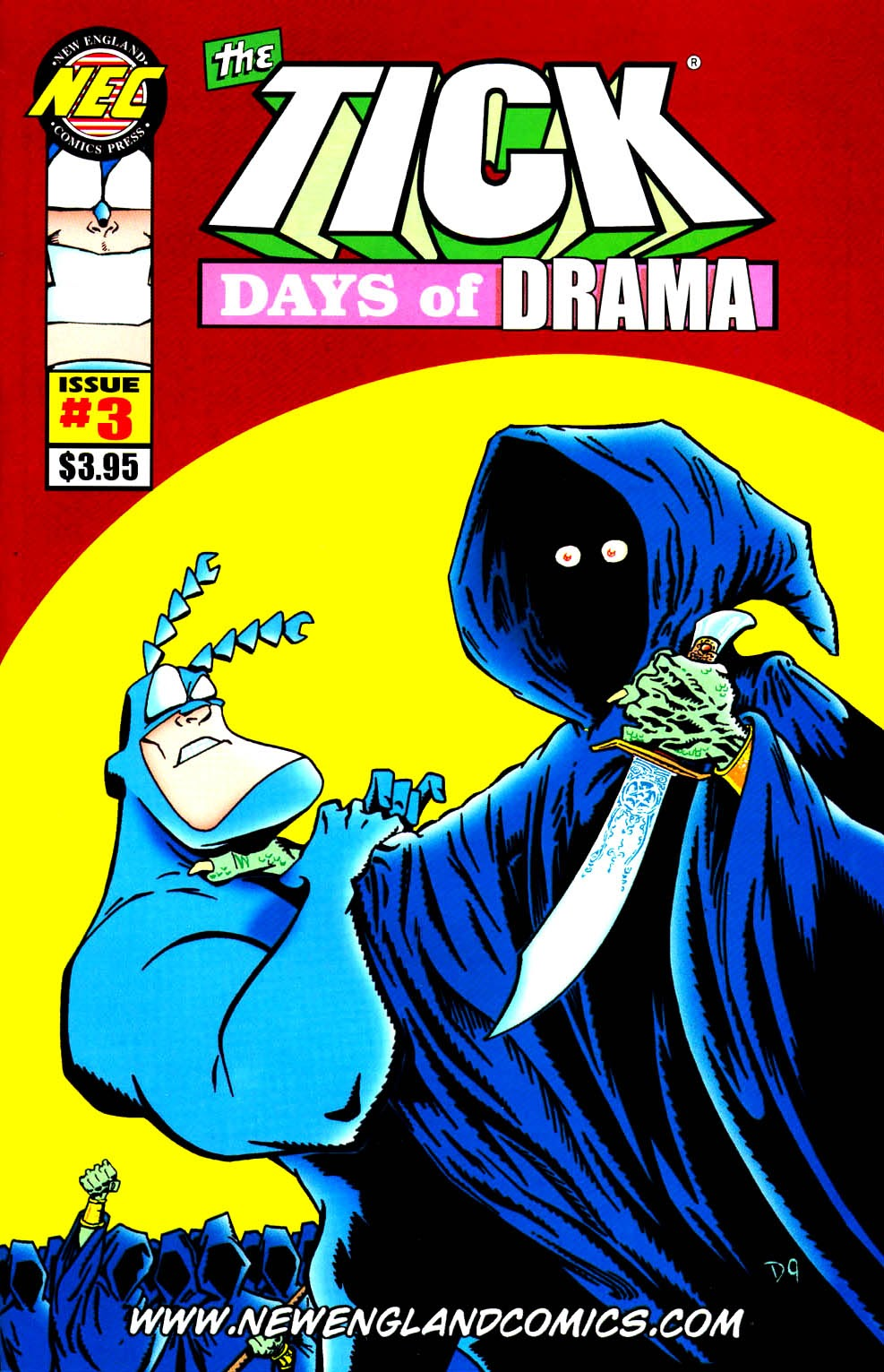 Read online The Tick: Days of Drama comic -  Issue #3 - 1