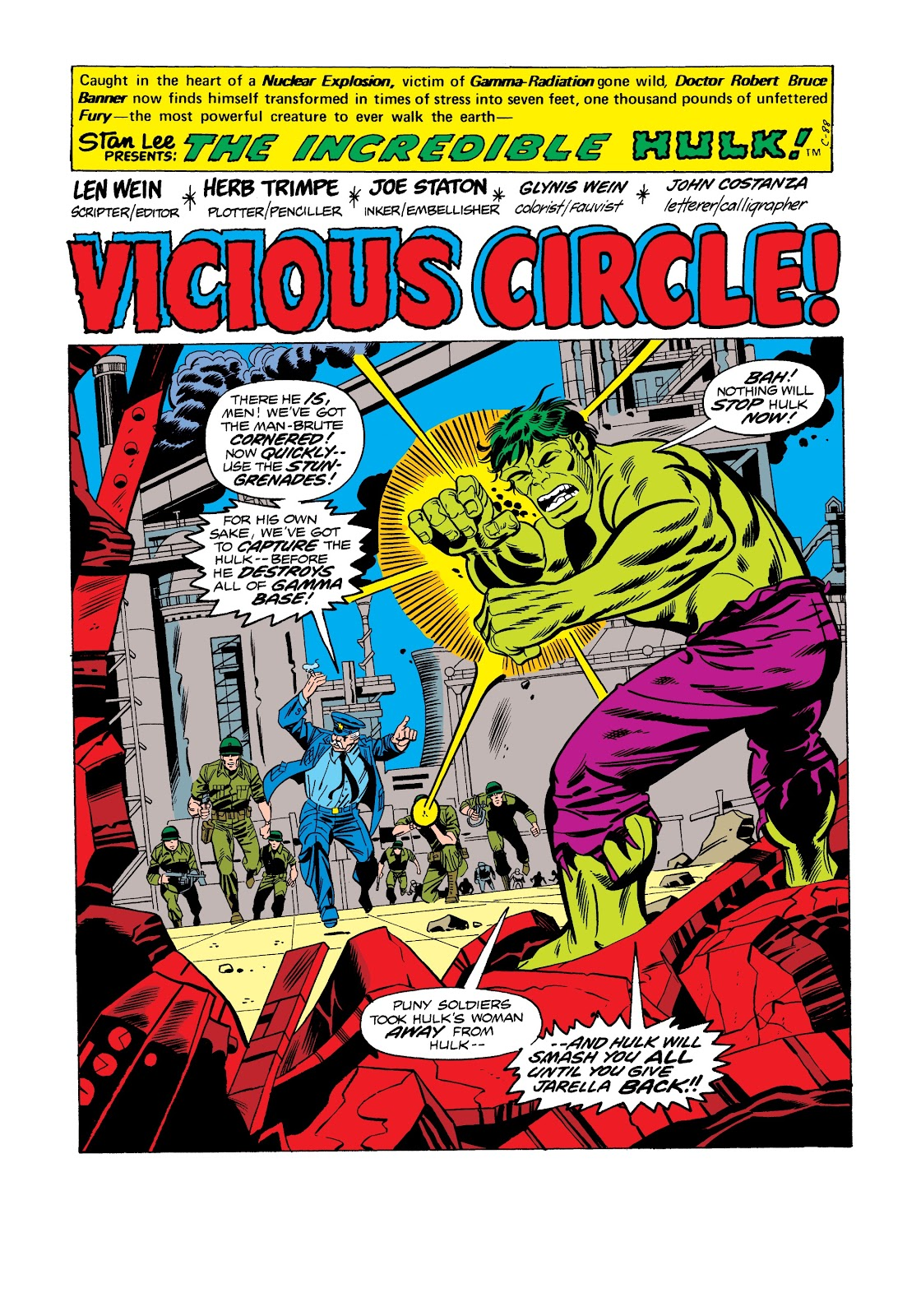 Read online Marvel Masterworks: The Incredible Hulk comic -  Issue # TPB 12 (Part 2) - 74