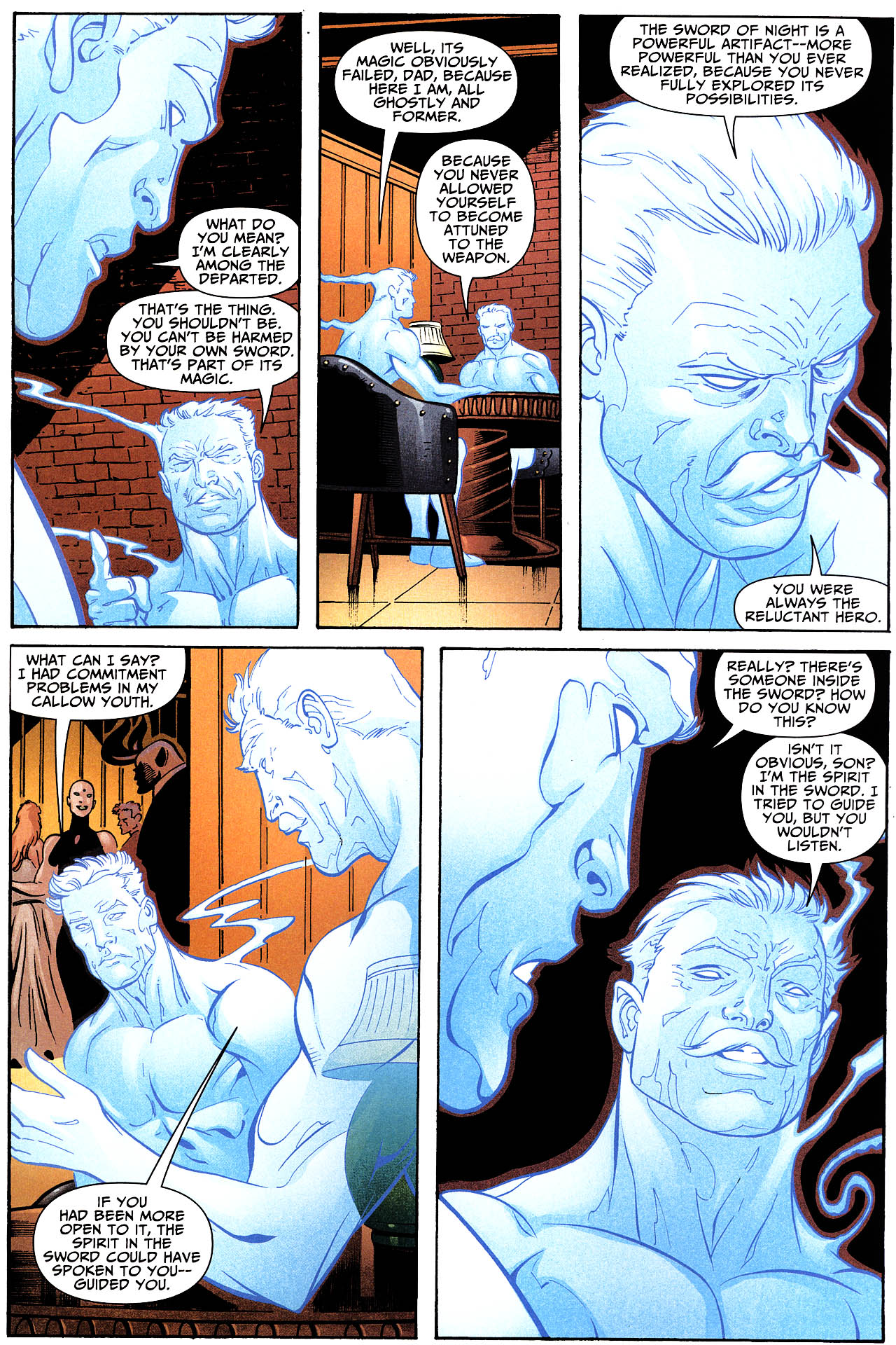 Read online Shadowpact comic -  Issue #12 - 17