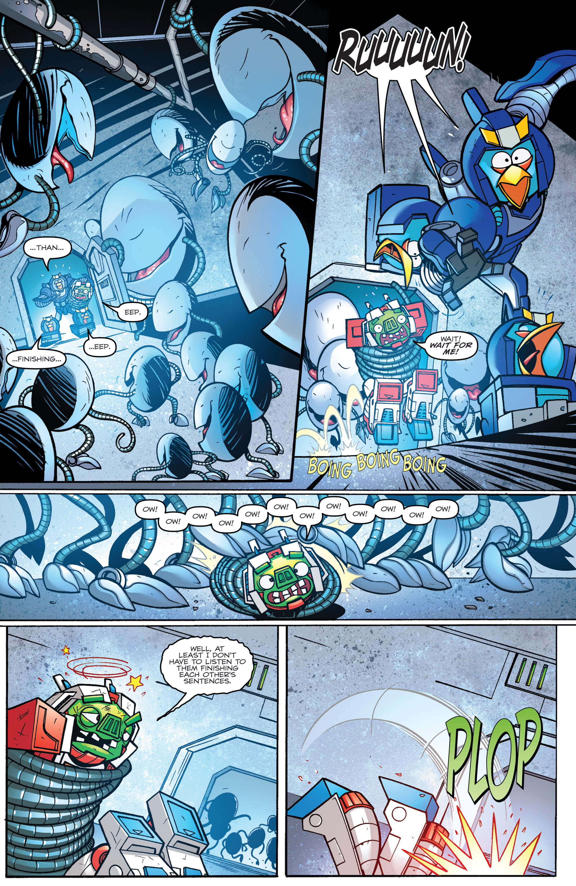 Read online Angry Birds Transformers comic -  Issue #3 - 17
