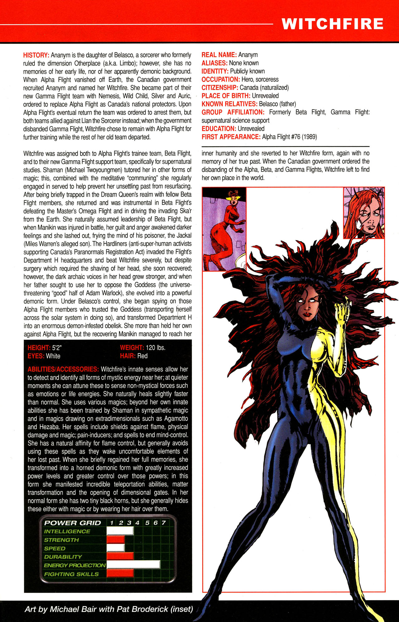 Read online All-New Official Handbook of the Marvel Universe A to Z comic -  Issue #12 - 43