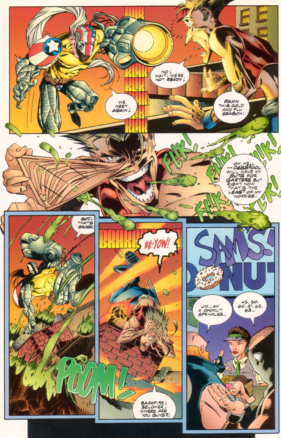 The Savage Dragon (1993) Issue #25 #28 - English 35