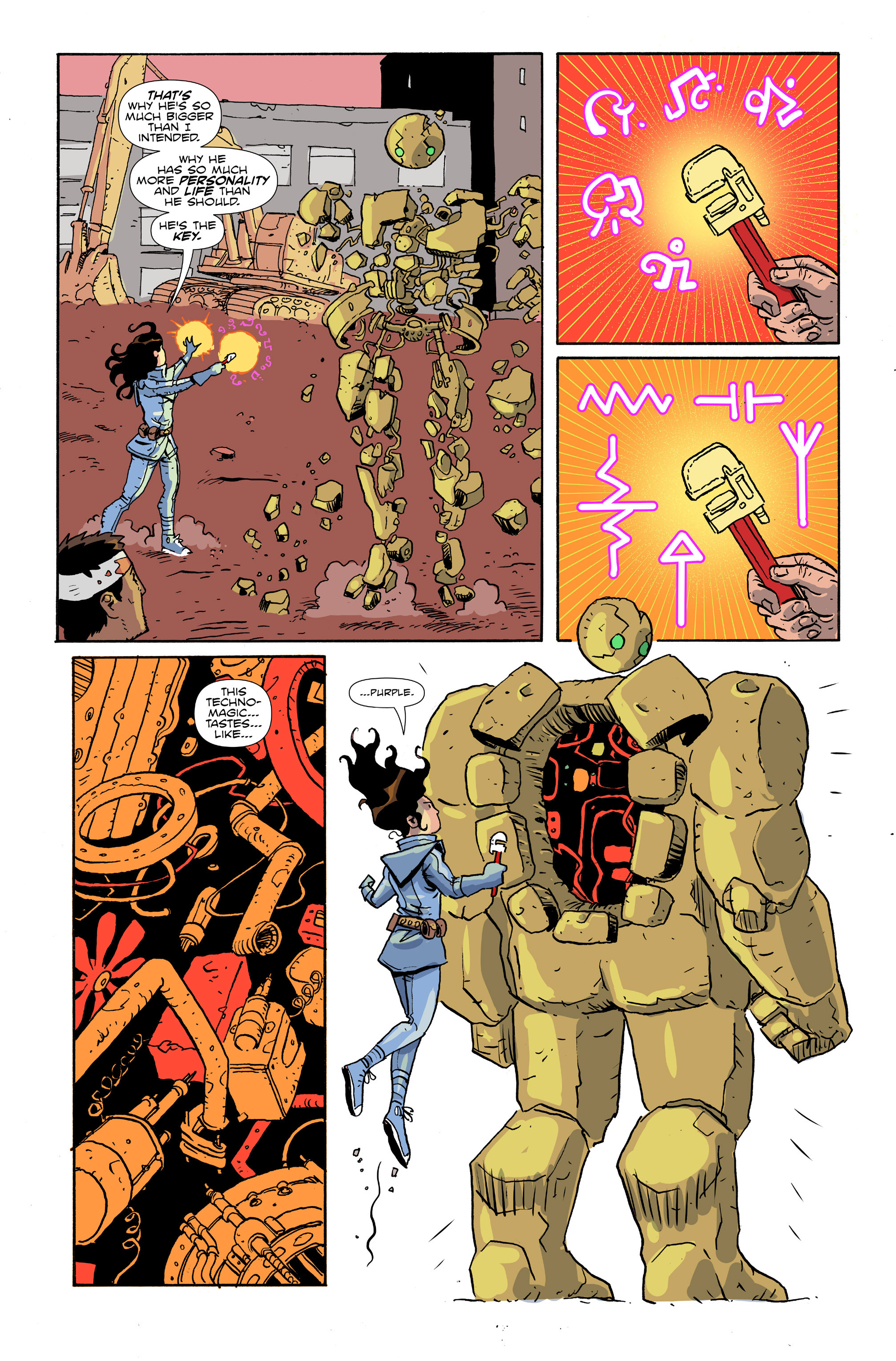 Read online Amelia Cole Versus The End of Everything comic -  Issue #28 - 10