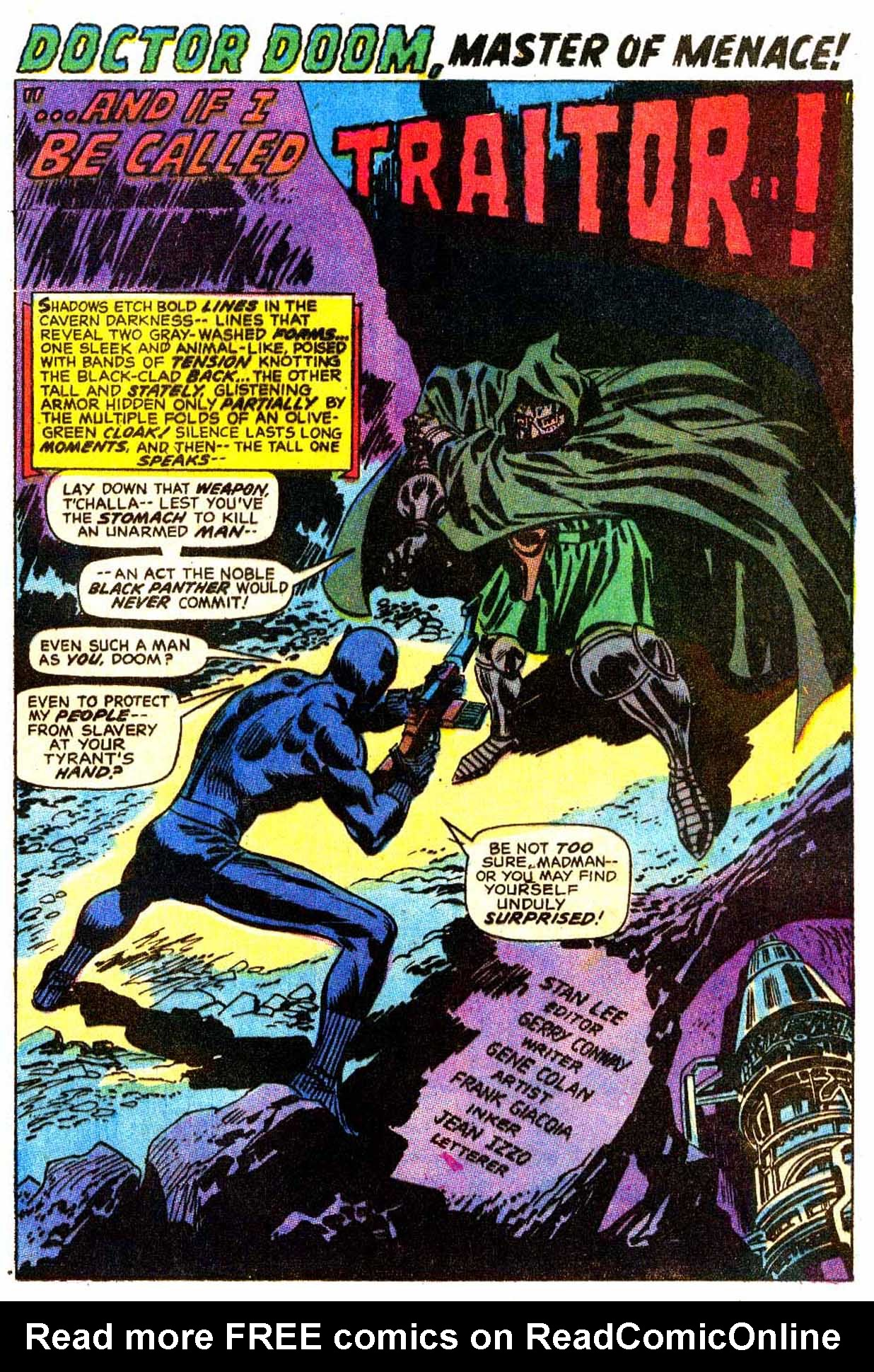 Read online Astonishing Tales (1970) comic -  Issue #7 - 2