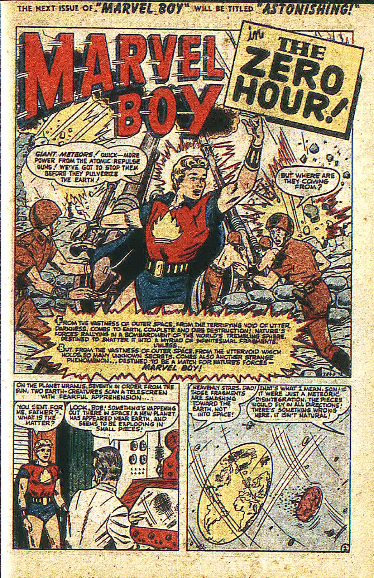 Read online Marvel Boy (1950) comic -  Issue #2 - 4