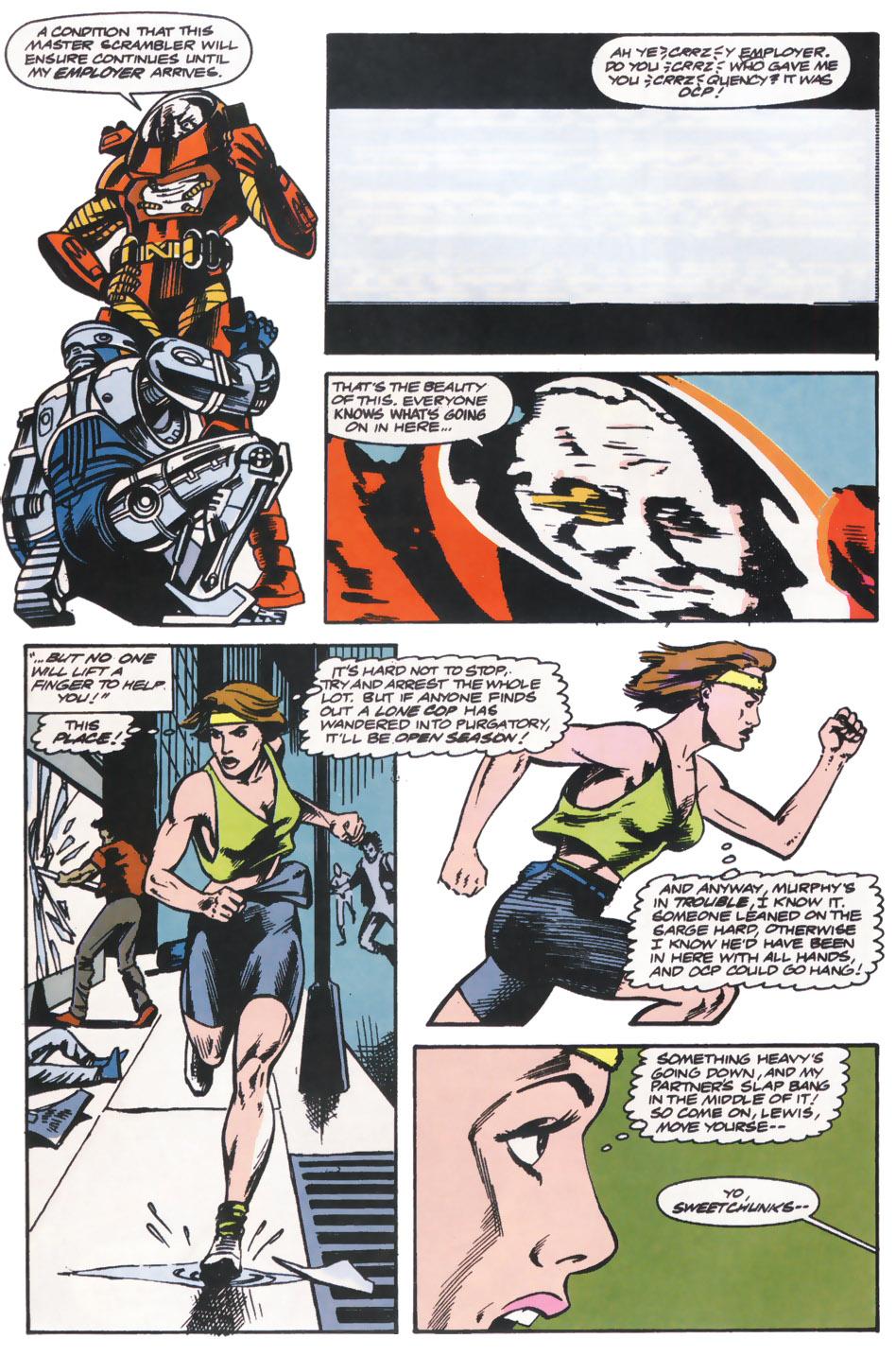 Read online Robocop (1990) comic -  Issue #14 - 15