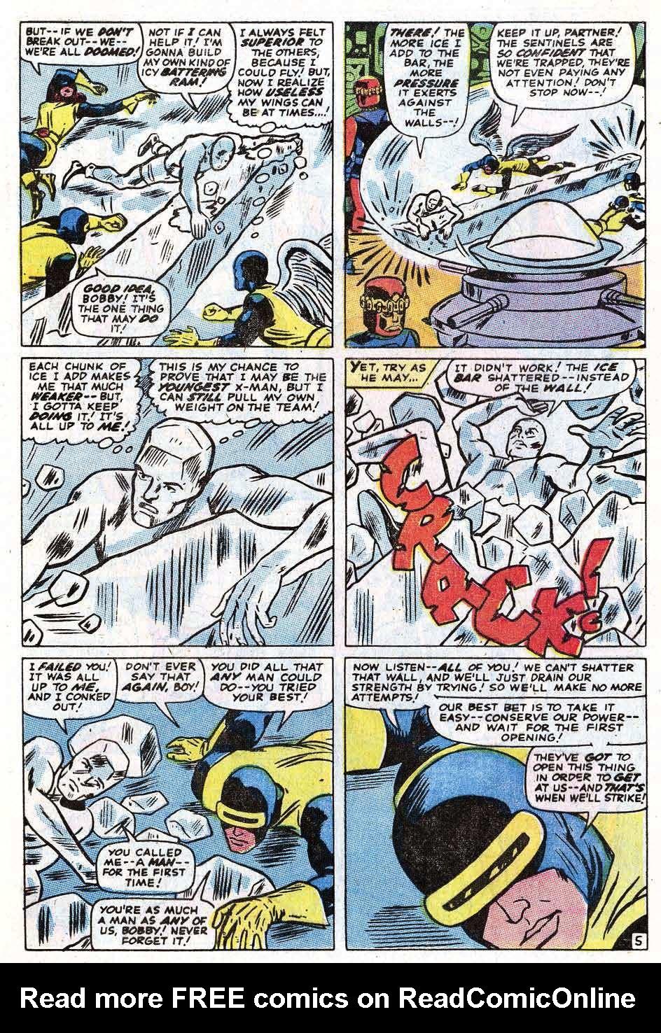 Read online Uncanny X-Men (1963) comic -  Issue #69 - 7