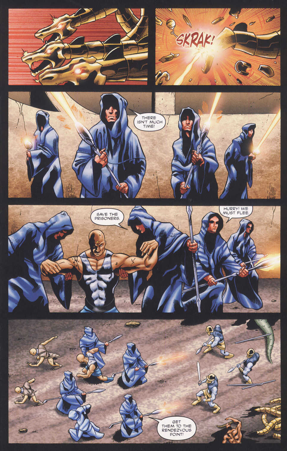 Read online Stargate SG-1: Fall of Rome comic -  Issue #3 - 11