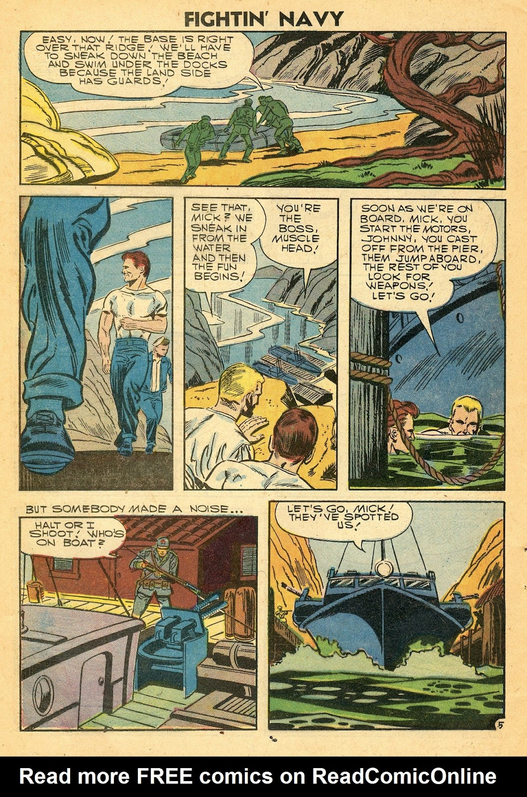 Read online Fightin' Navy comic -  Issue #77 - 24