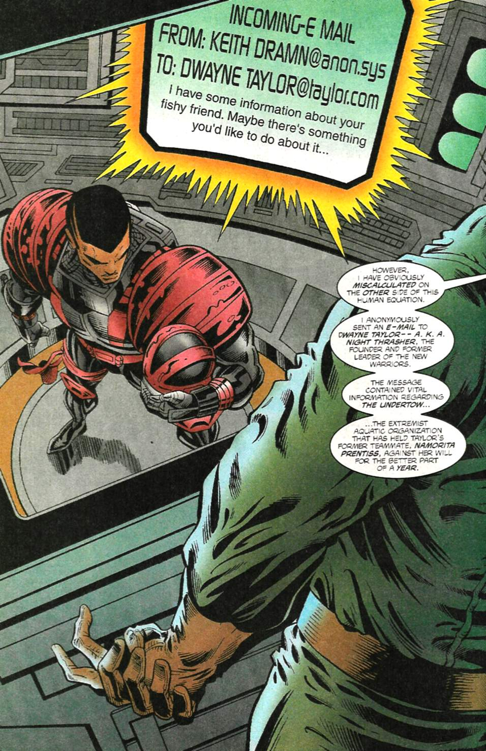 The New Warriors Issue #75 #79 - English 3