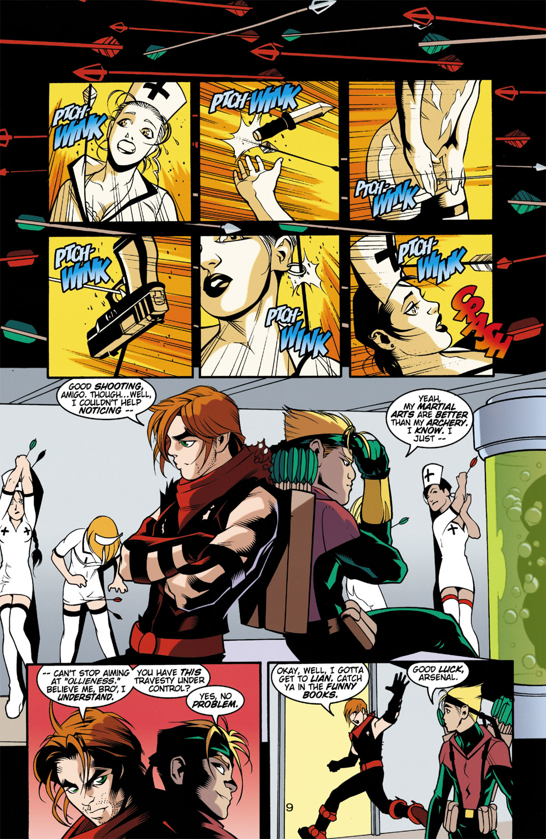 Read online Arsenal comic -  Issue #3 - 10