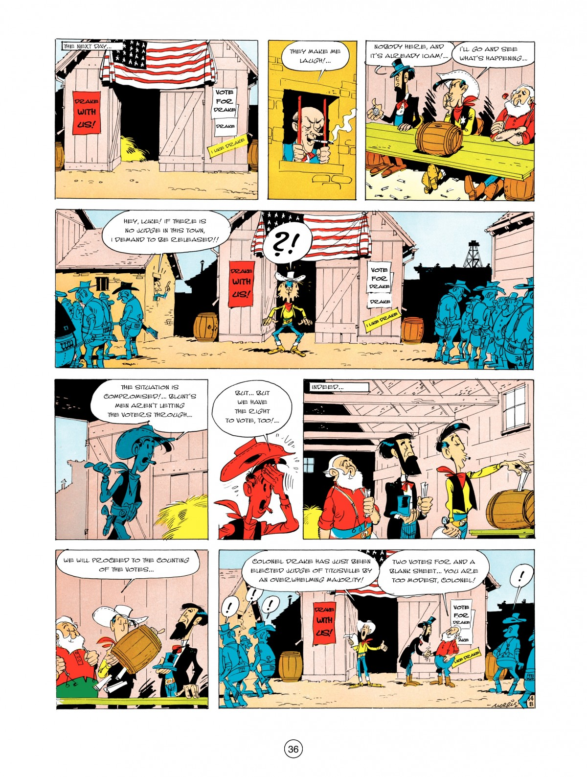 A Lucky Luke Adventure 5 Page 37