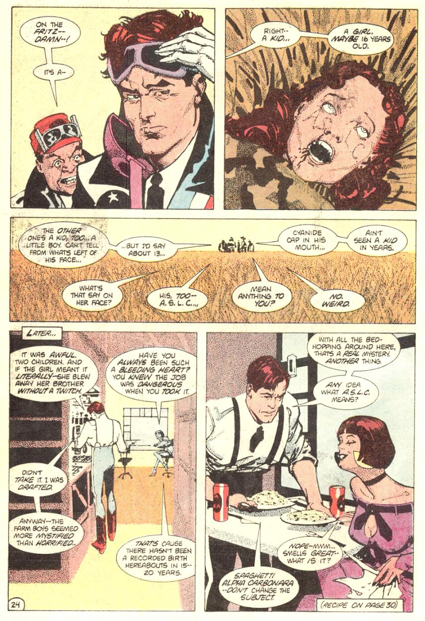 Read online American Flagg! comic -  Issue #2 - 25