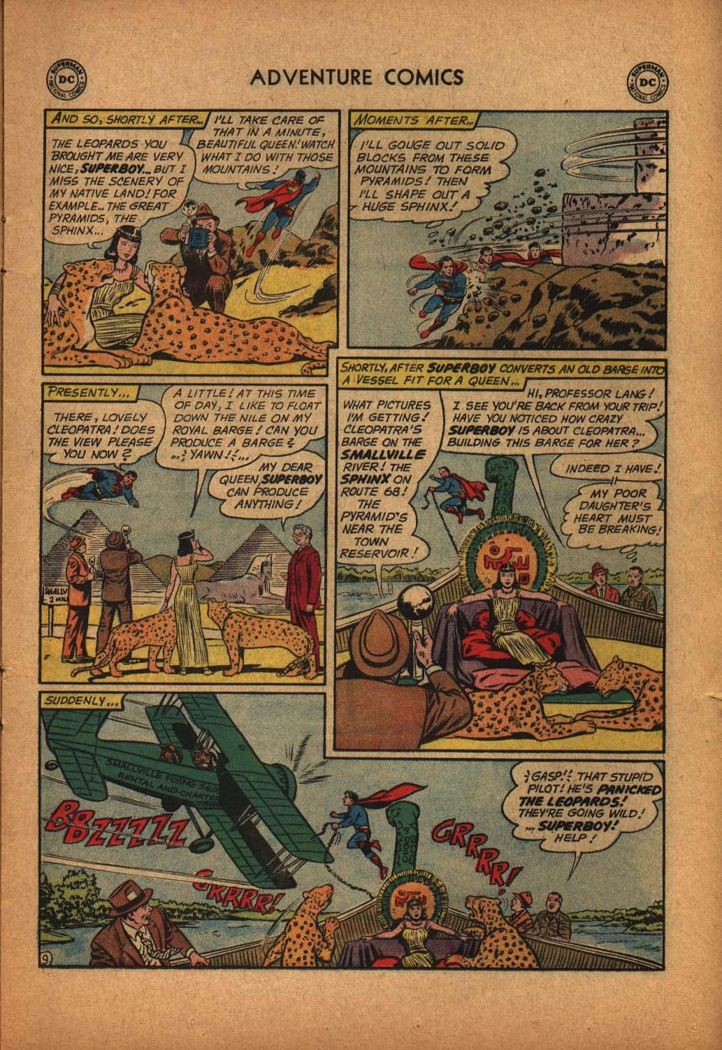 Read online Adventure Comics (1938) comic -  Issue #291 - 11
