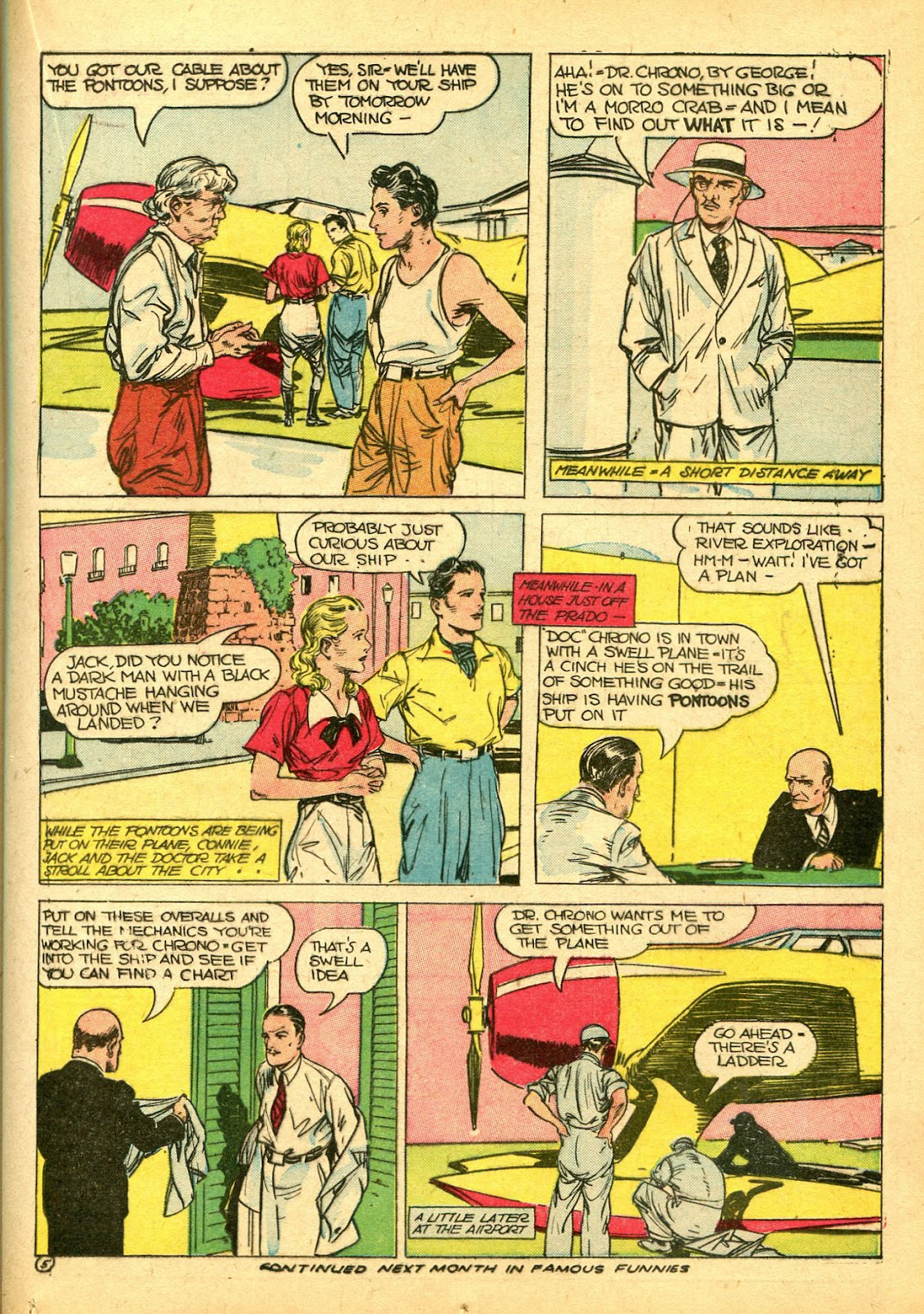Read online Famous Funnies comic -  Issue #108 - 23