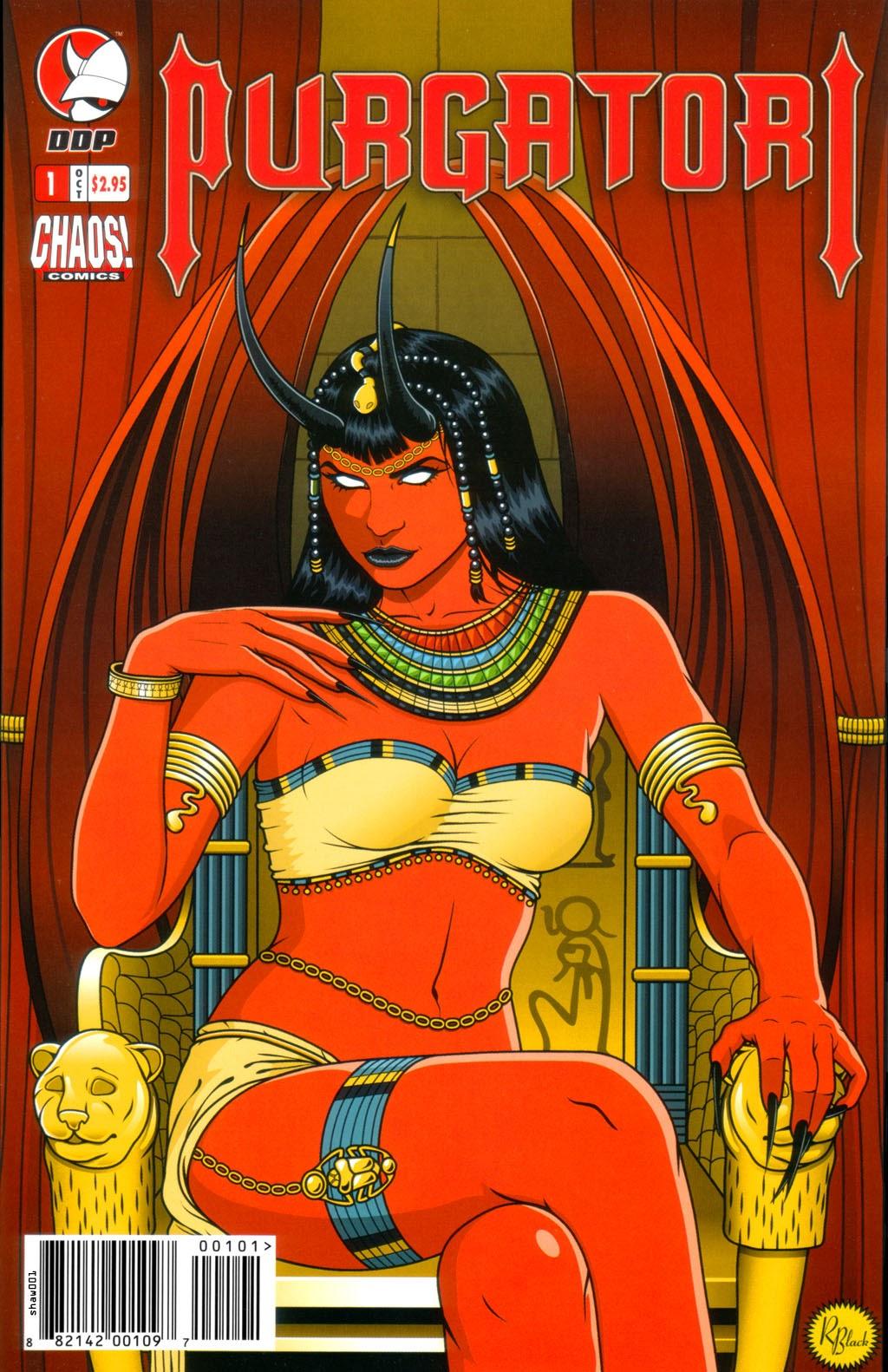 Purgatori (2005) issue 1 - Page 1
