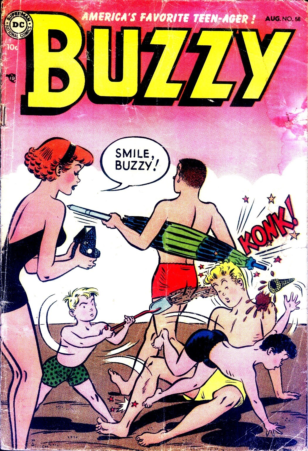 Buzzy issue 58 - Page 1