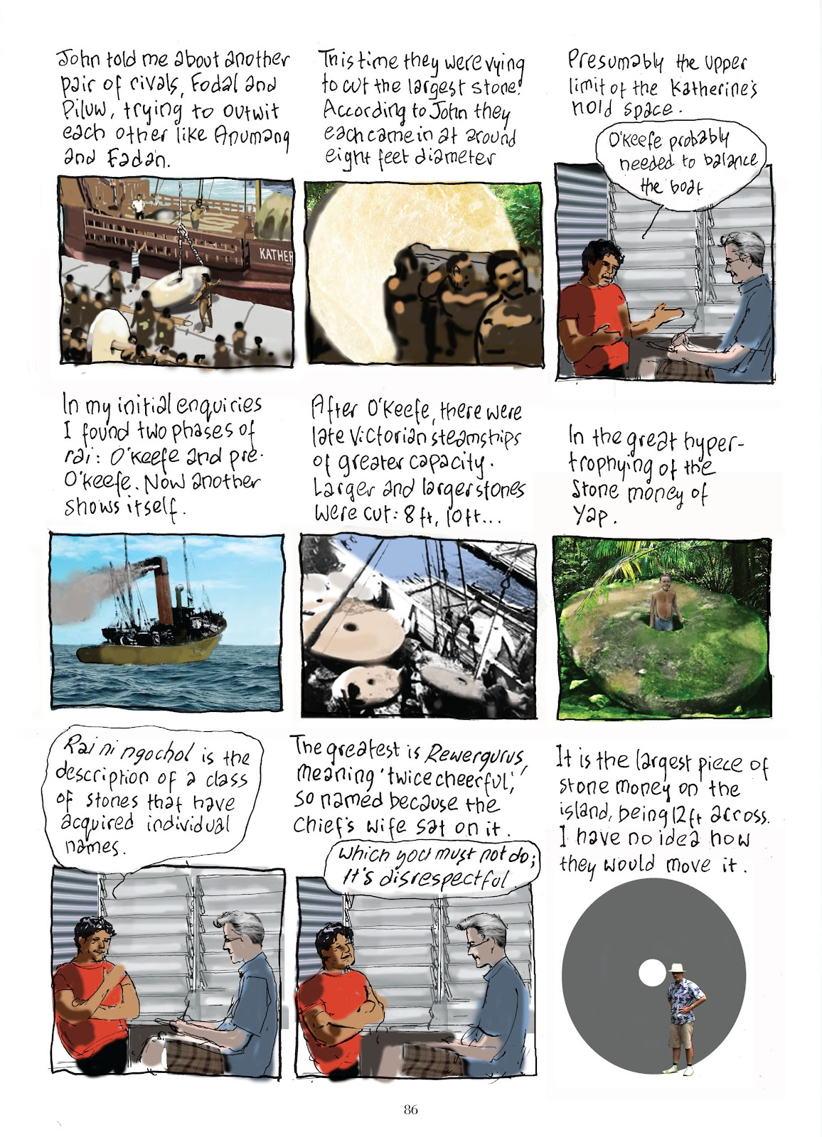 Read online The Lovely Horrible Stuff comic -  Issue # TPB - 88