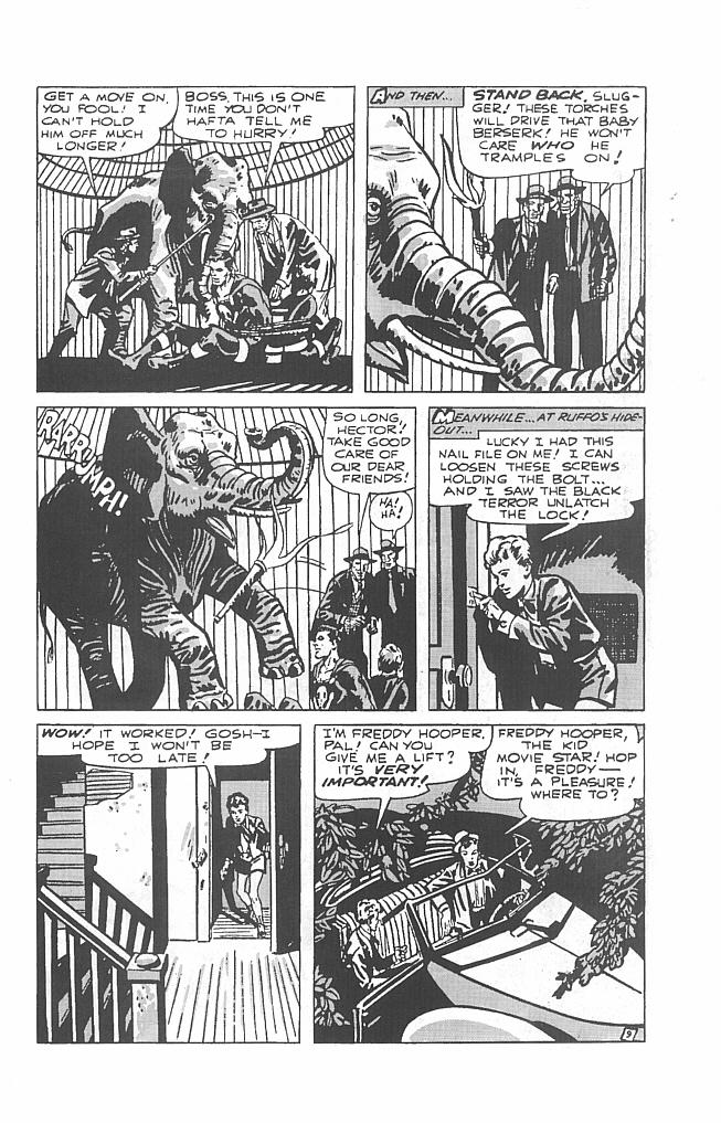 Read online Golden-Age Men of Mystery comic -  Issue #6 - 11