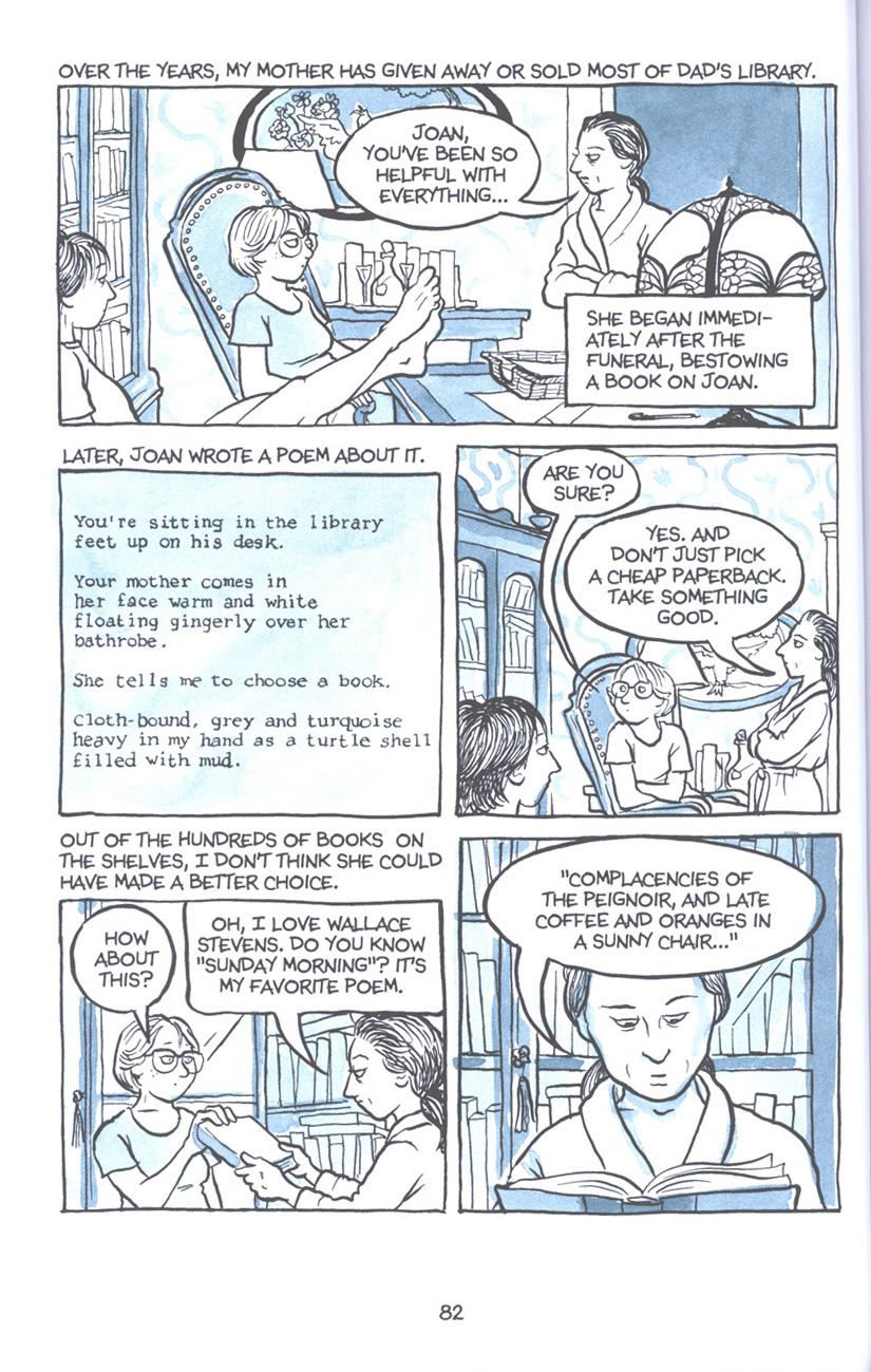 Read online Fun Home: A Family Tragicomic comic -  Issue # TPB - 89