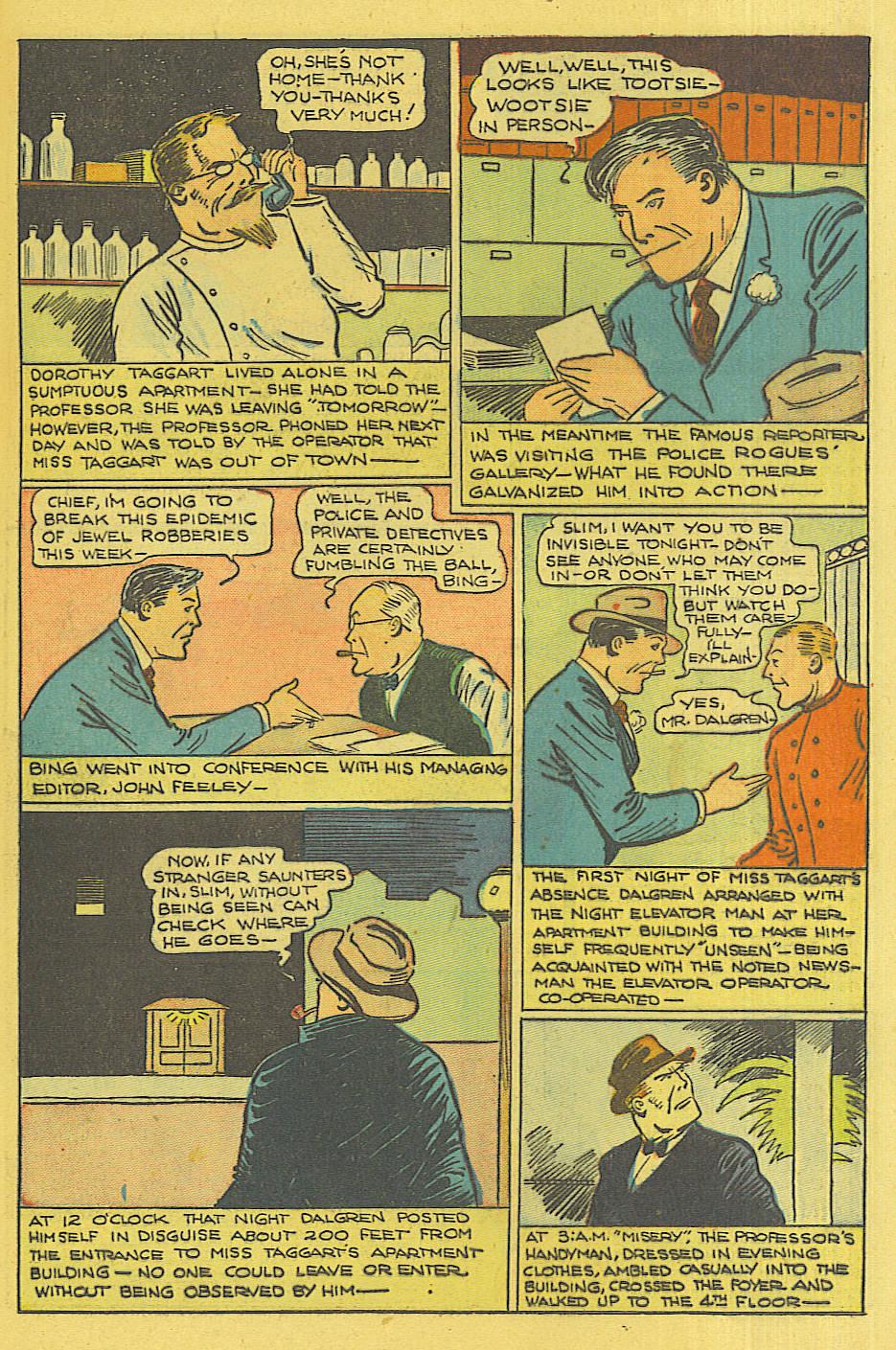 Read online Shadow Comics comic -  Issue #71 - 13