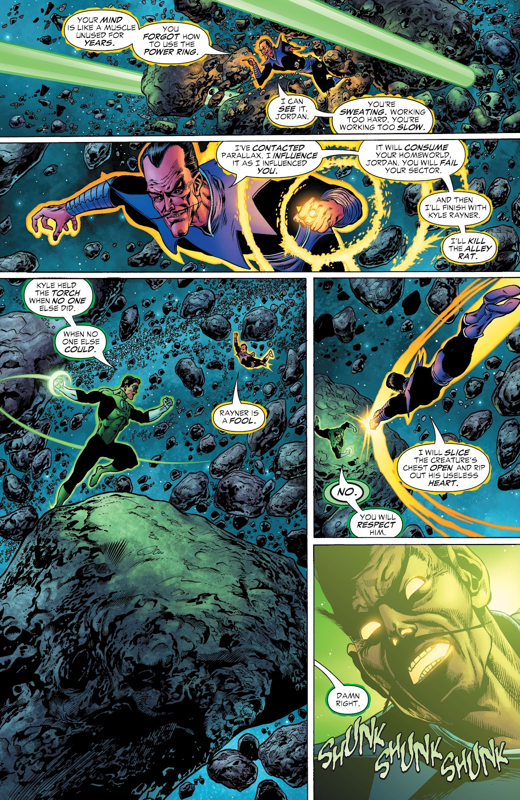Read online Green Lantern by Geoff Johns comic -  Issue # TPB 1 (Part 2) - 24