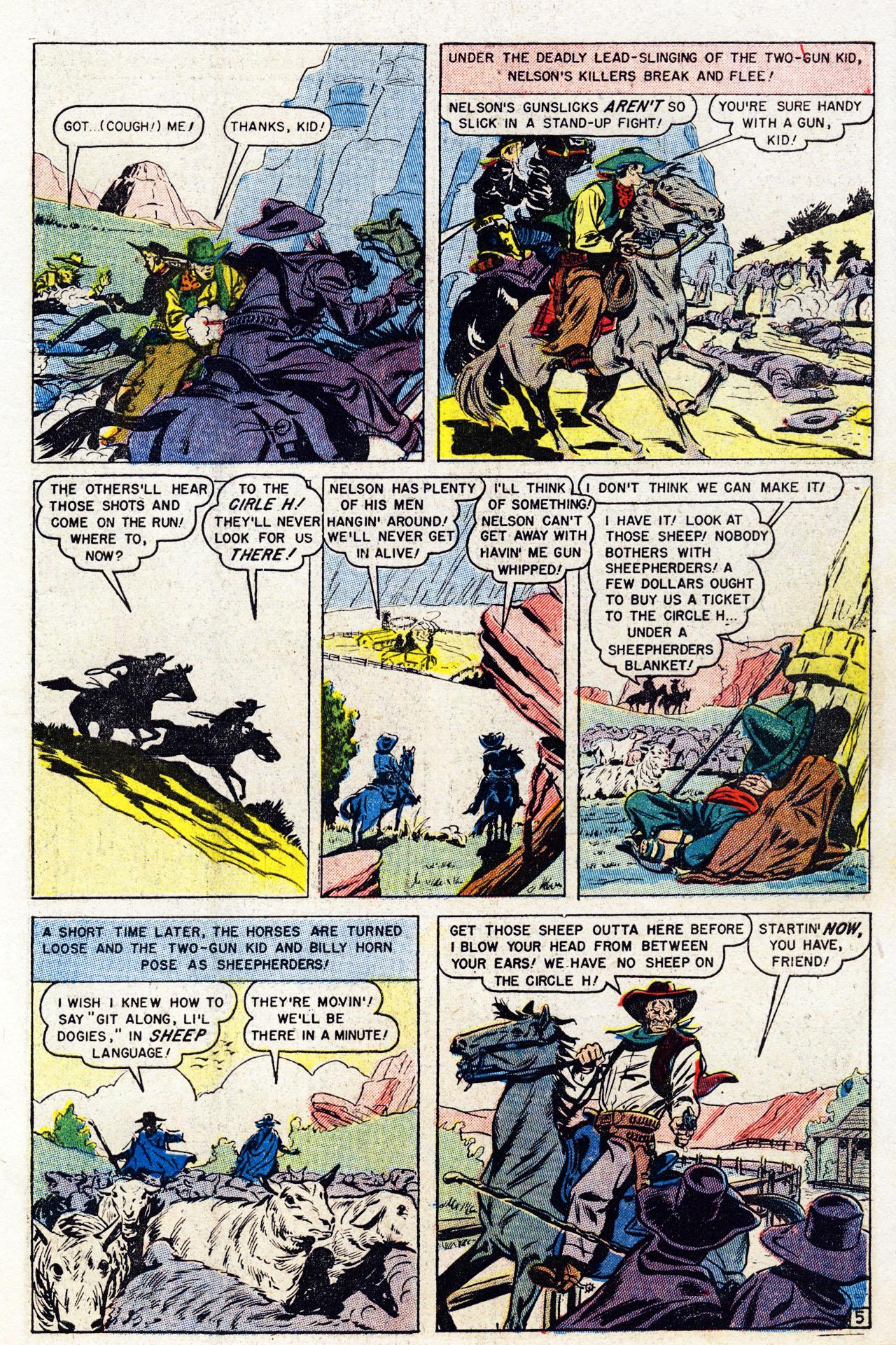 Read online Two-Gun Kid comic -  Issue #7 - 7