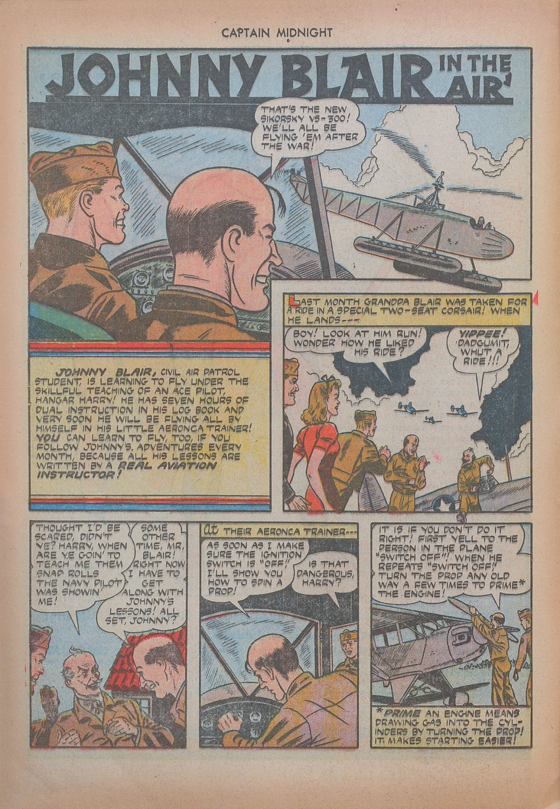 Captain Midnight (1942) issue 20 - Page 24