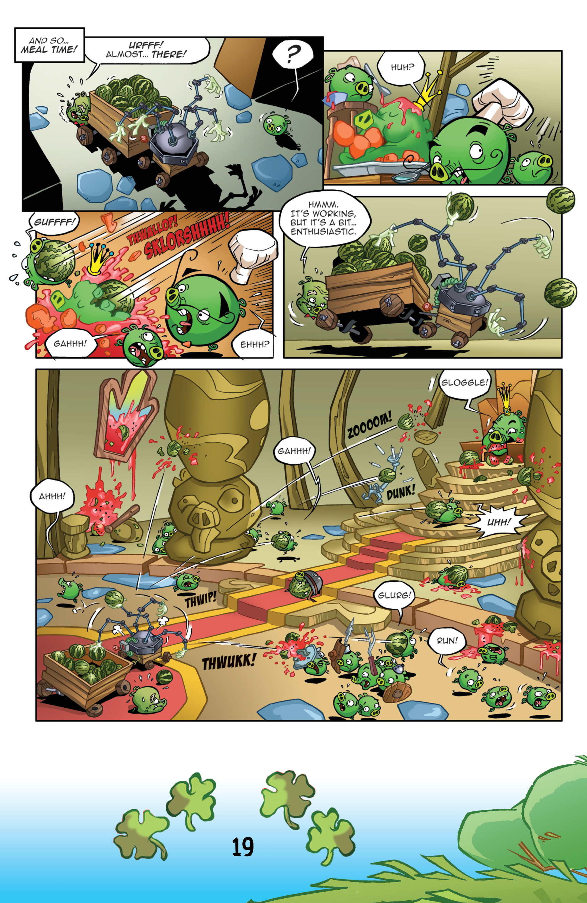 Read online Angry Birds Comics (2016) comic -  Issue #3 - 21