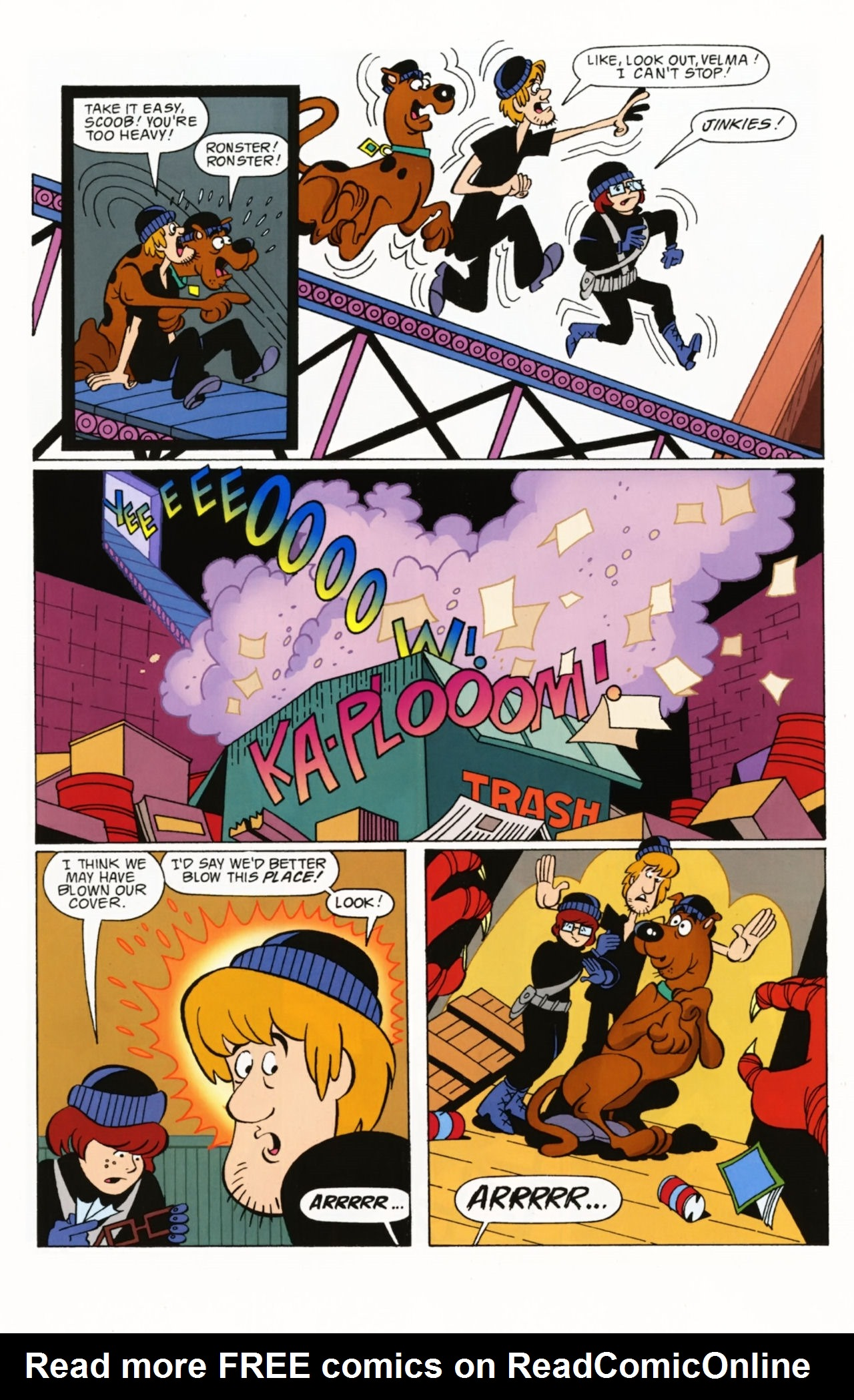 Read online Scooby-Doo: Where Are You? comic -  Issue #2 - 23