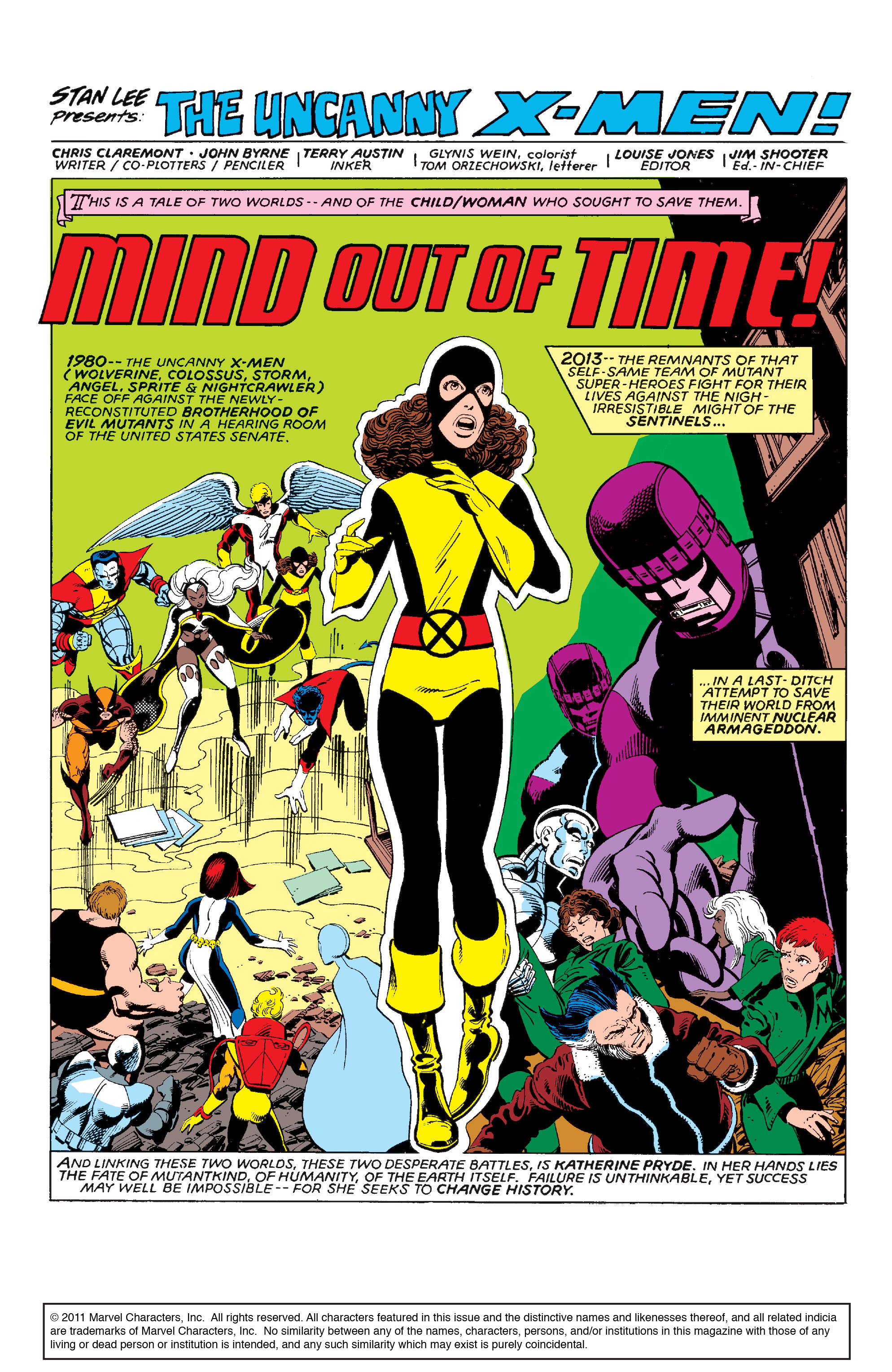 Read online Uncanny X-Men (1963) comic -  Issue #142 - 2
