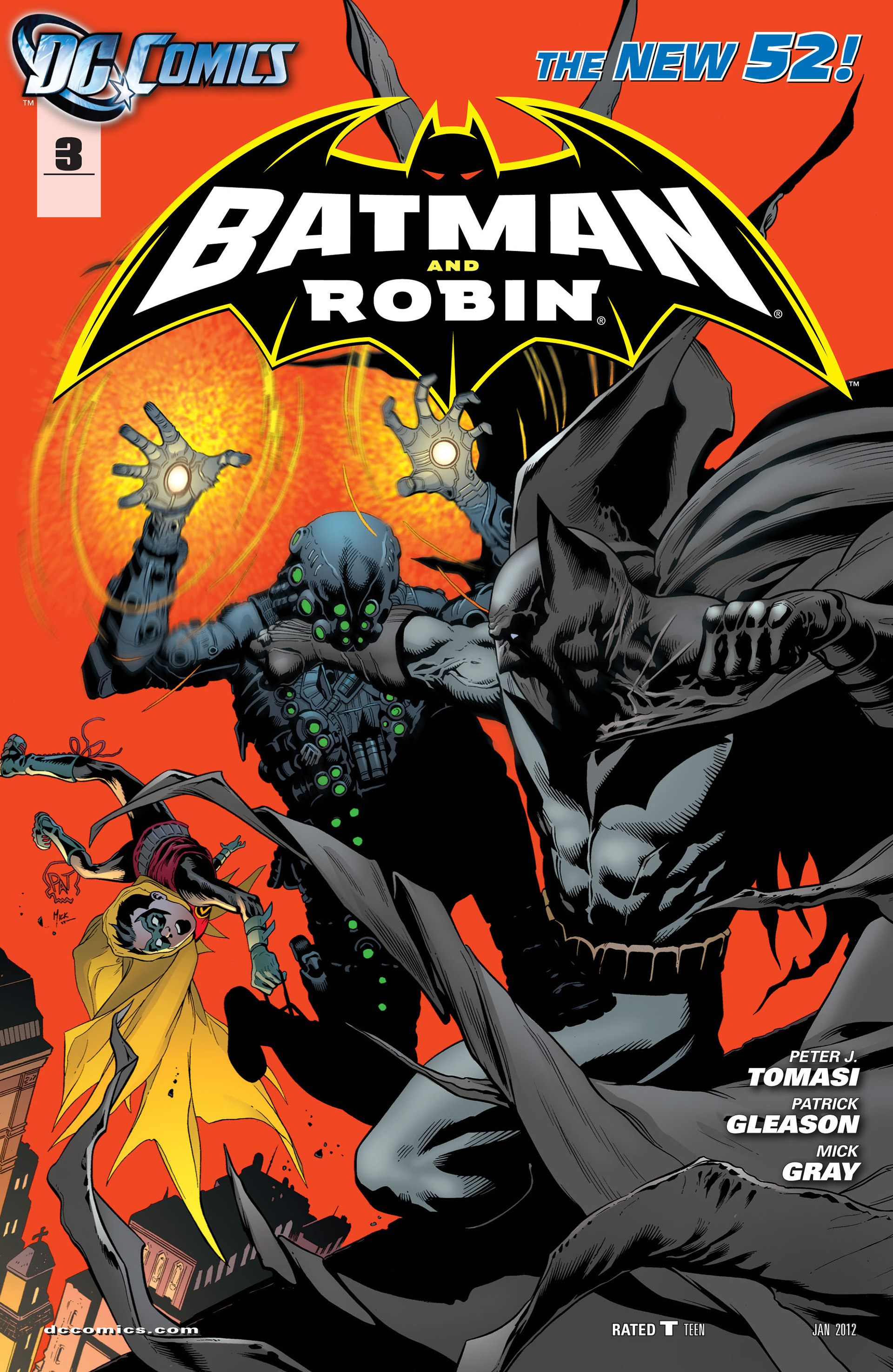 Read online Batman and Robin (2011) comic -  Issue #3 - 1