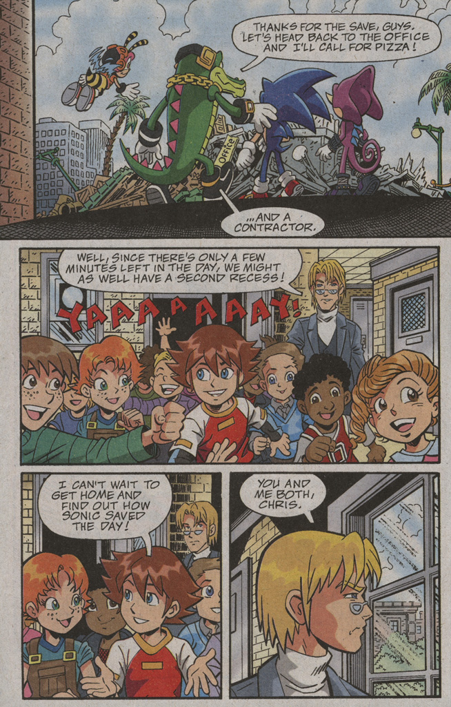 Read online Sonic X comic -  Issue #39 - 30