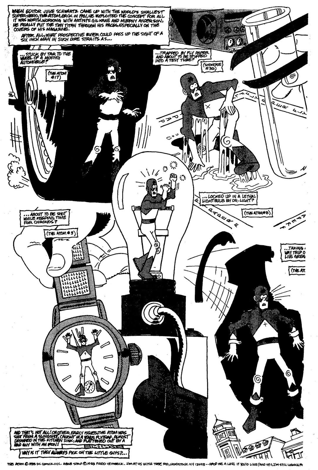 Read online The Nearly Complete Essential Hembeck Archives Omnibus comic -  Issue # TPB (Part 4) - 76