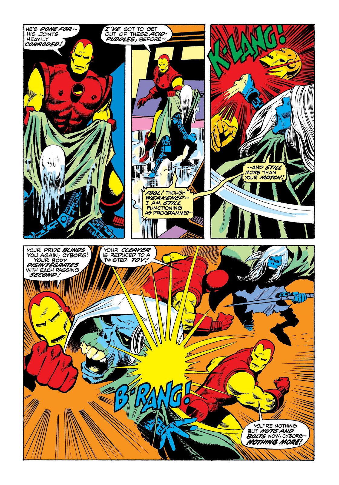 Read online Marvel Masterworks: The Invincible Iron Man comic -  Issue # TPB 8 (Part 3) - 69