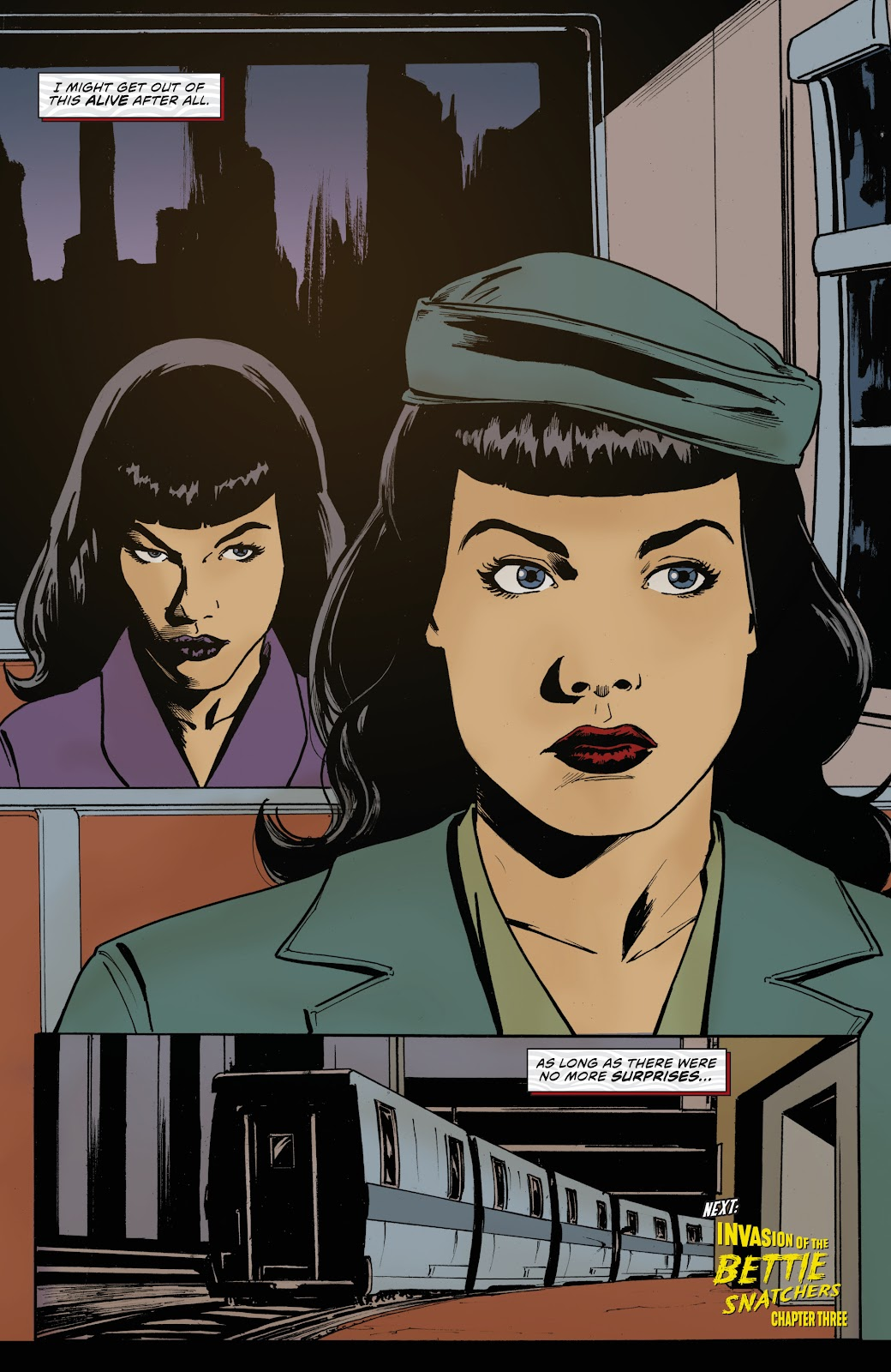 Read online Bettie Page: Unbound comic -  Issue #7 - 25