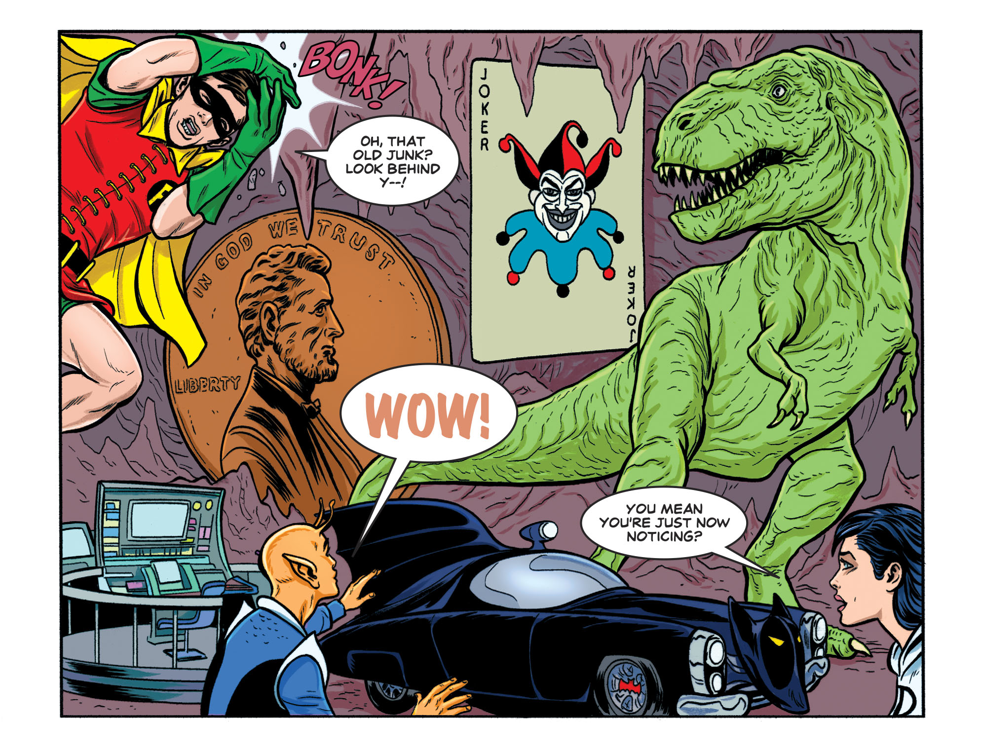 Read online Batman '66 Meets the Legion of Super-Heroes comic -  Issue #1 - 15