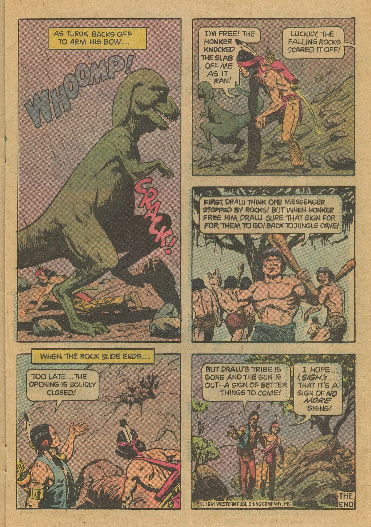 Read online Turok, Son of Stone comic -  Issue #126 - 17
