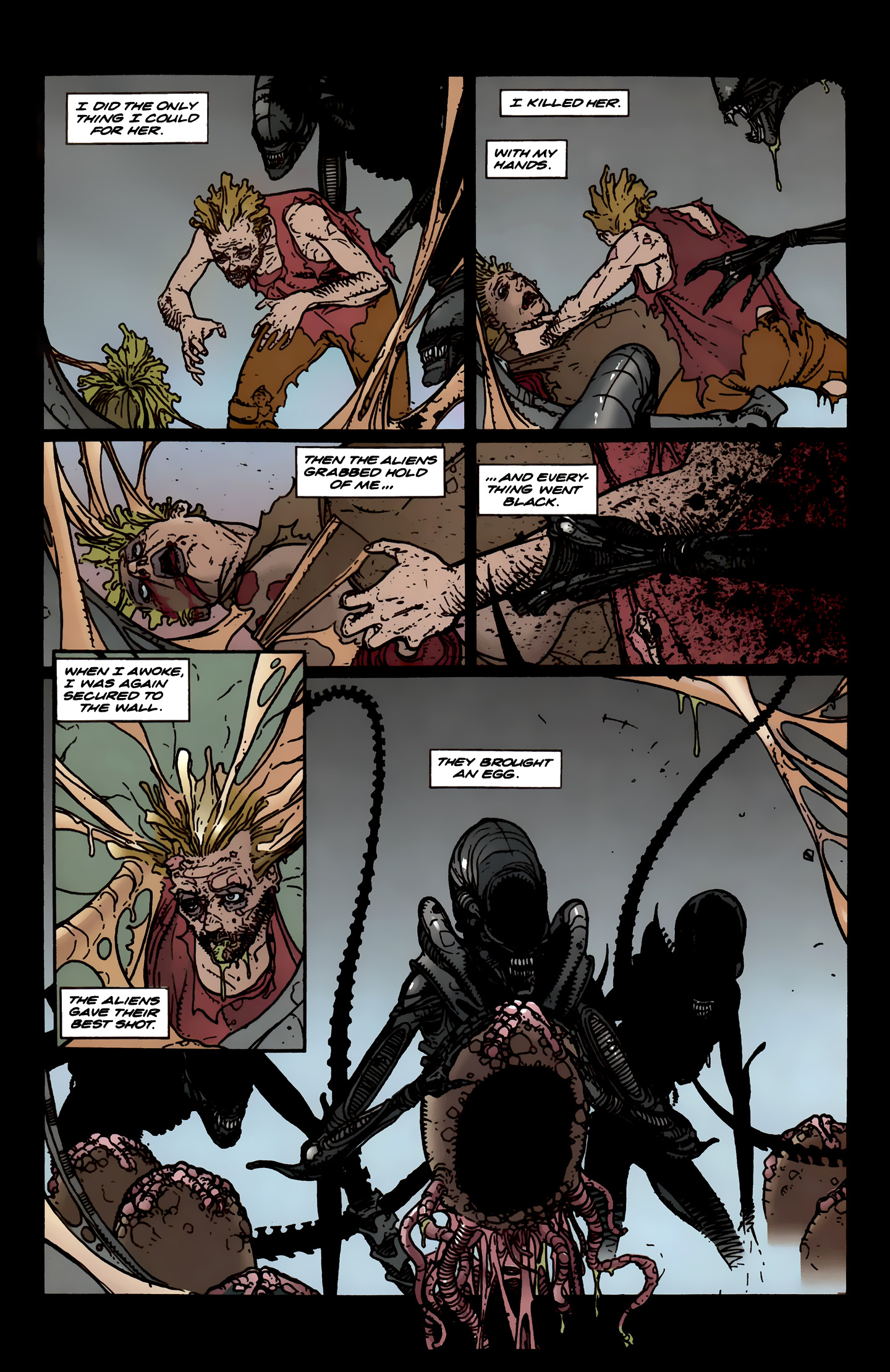 Read online Aliens: Labyrinth comic -  Issue #3 - 25