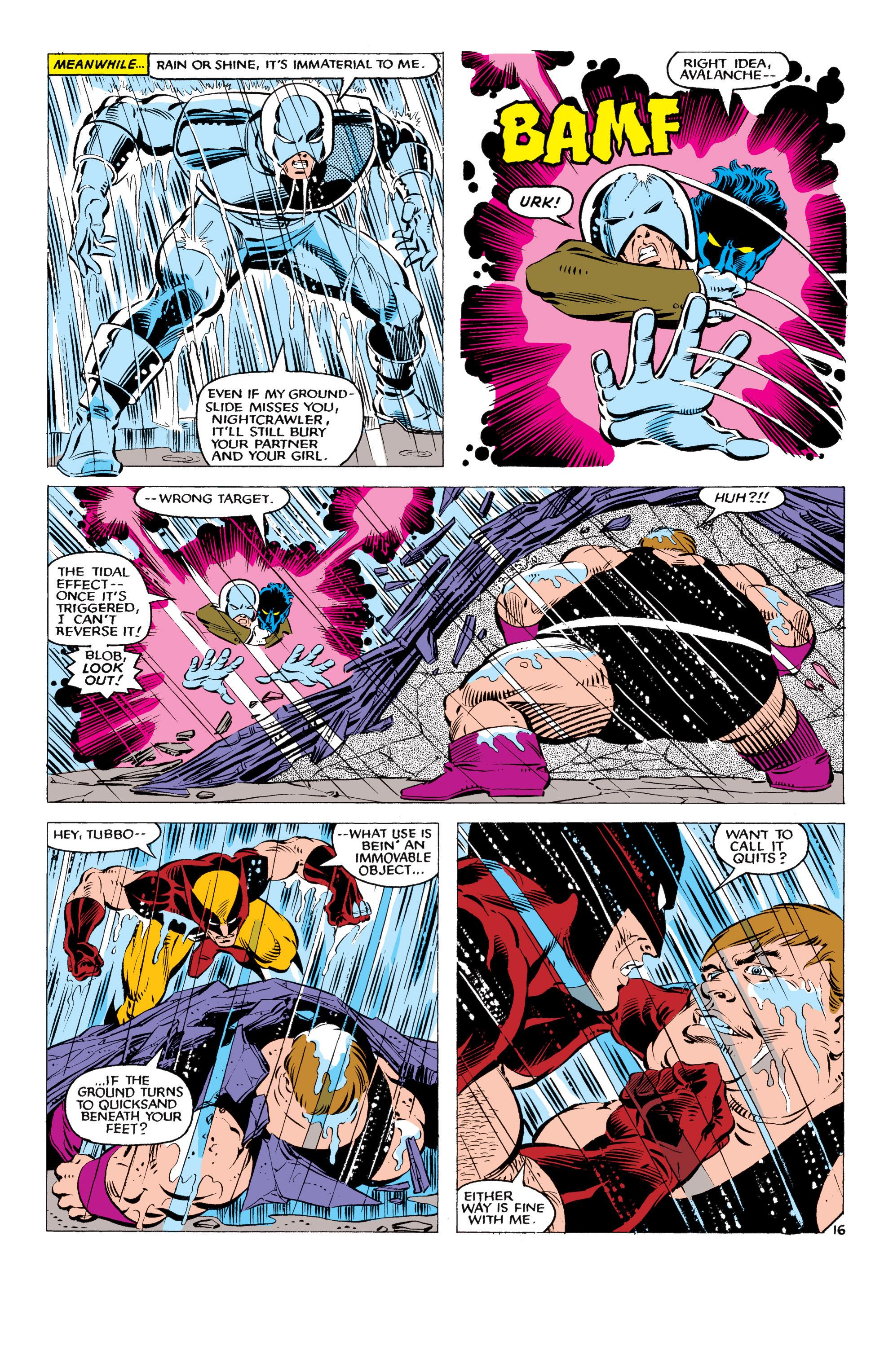 Read online Uncanny X-Men (1963) comic -  Issue #178 - 17