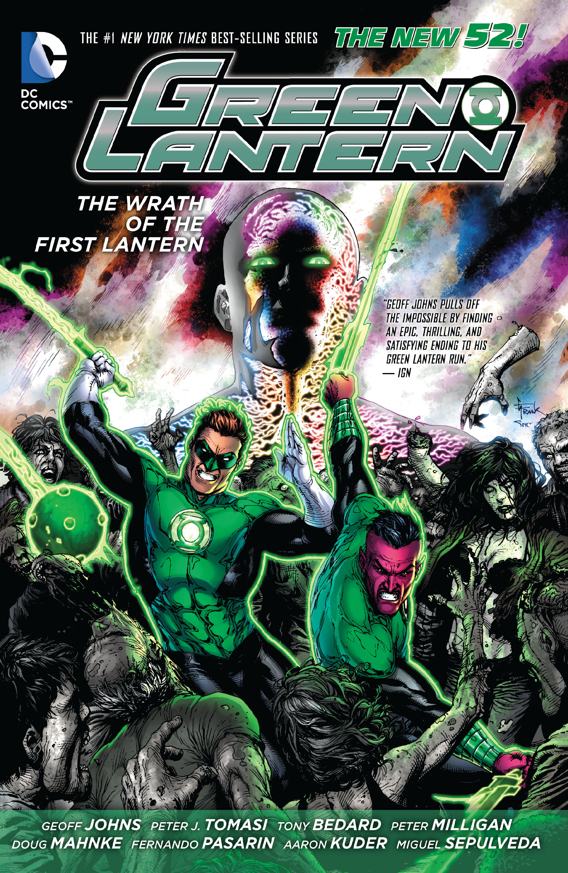 Green Lantern: The Wrath of the First Lantern TPB Page 1