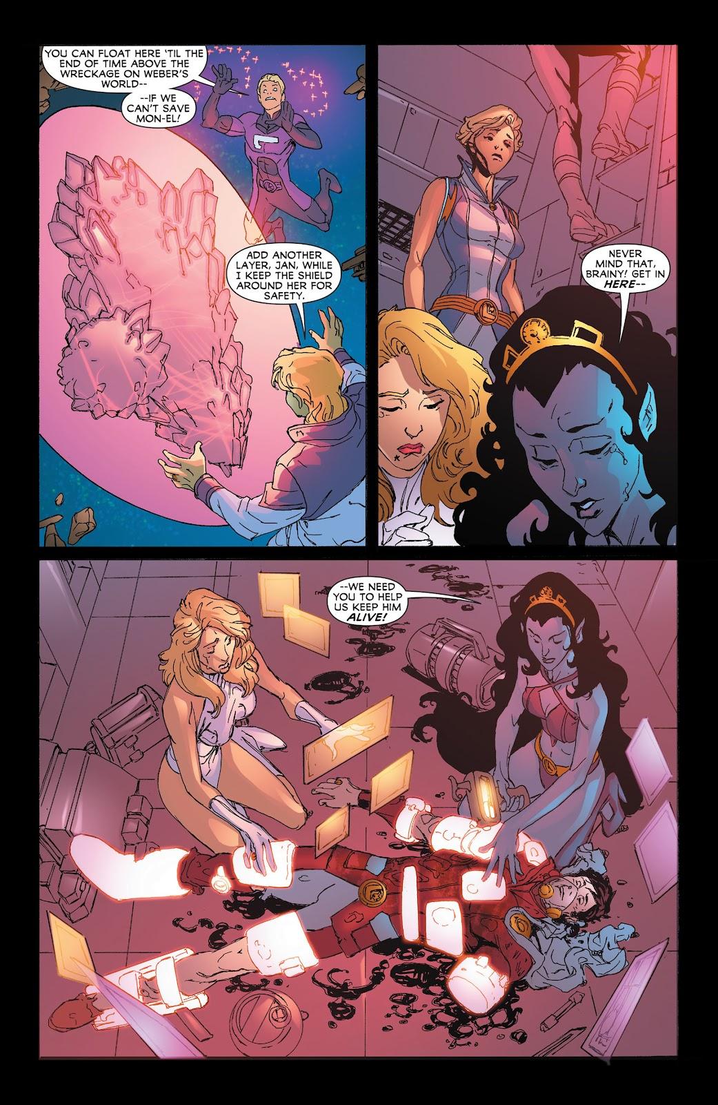 Legion of Super-Heroes (2011) Issue #19 #20 - English 21