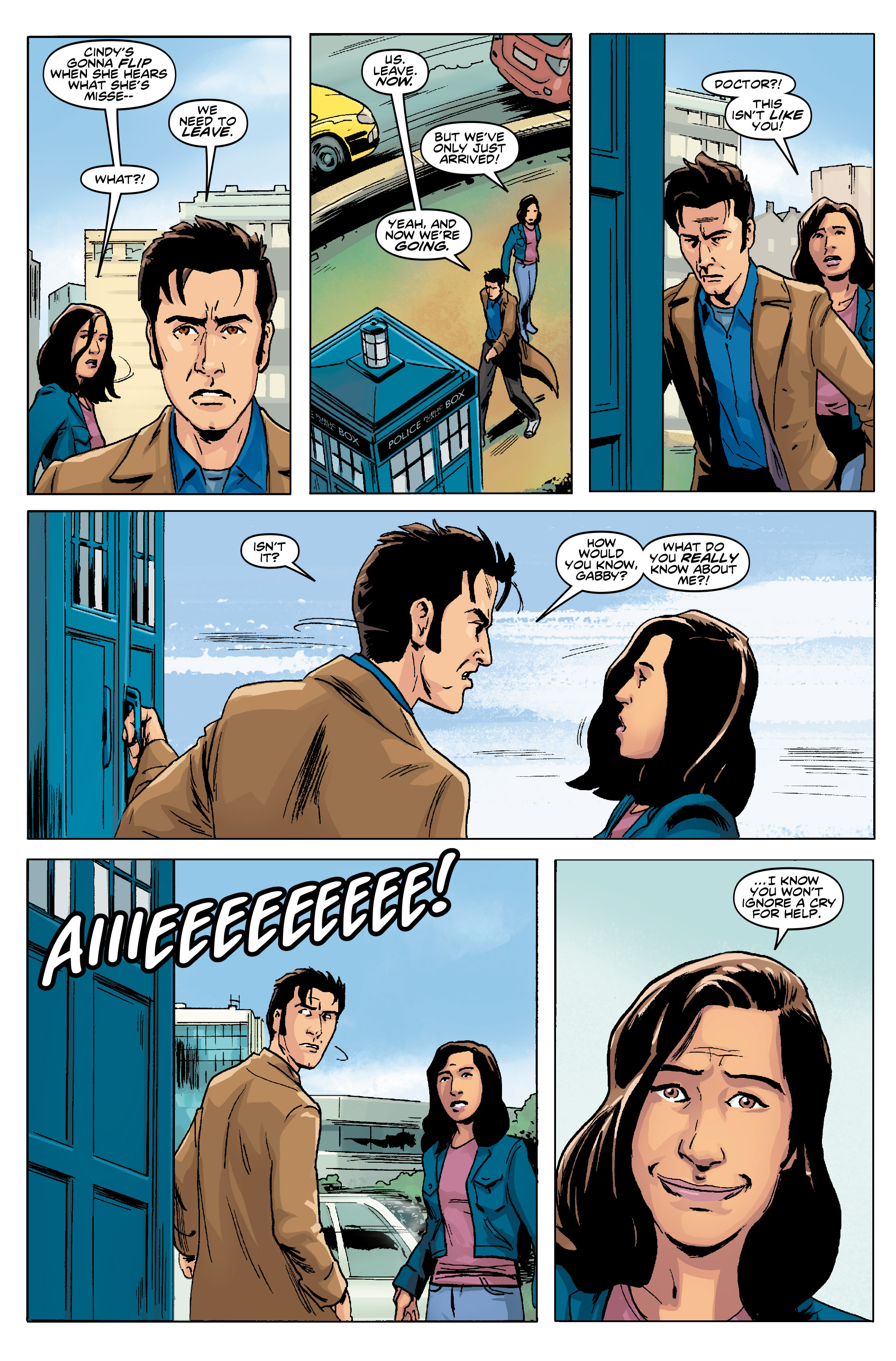 Read online Doctor Who: The Tenth Doctor Year Three comic -  Issue #5 - 9